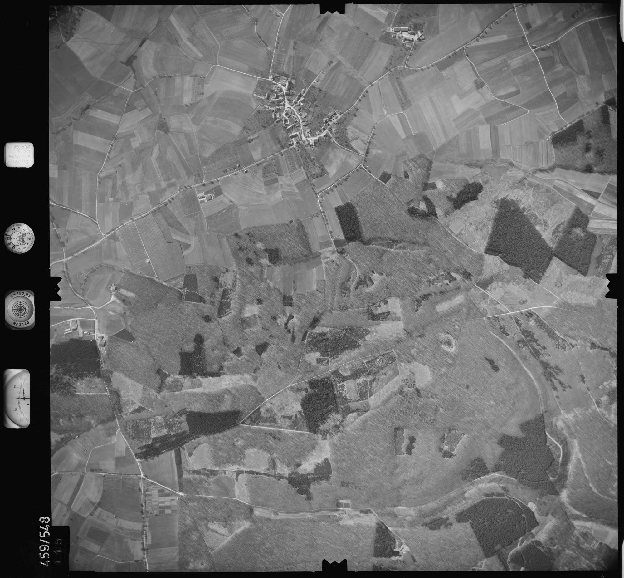Luftbild: Film 103 Bildnr. 115, Bild 1