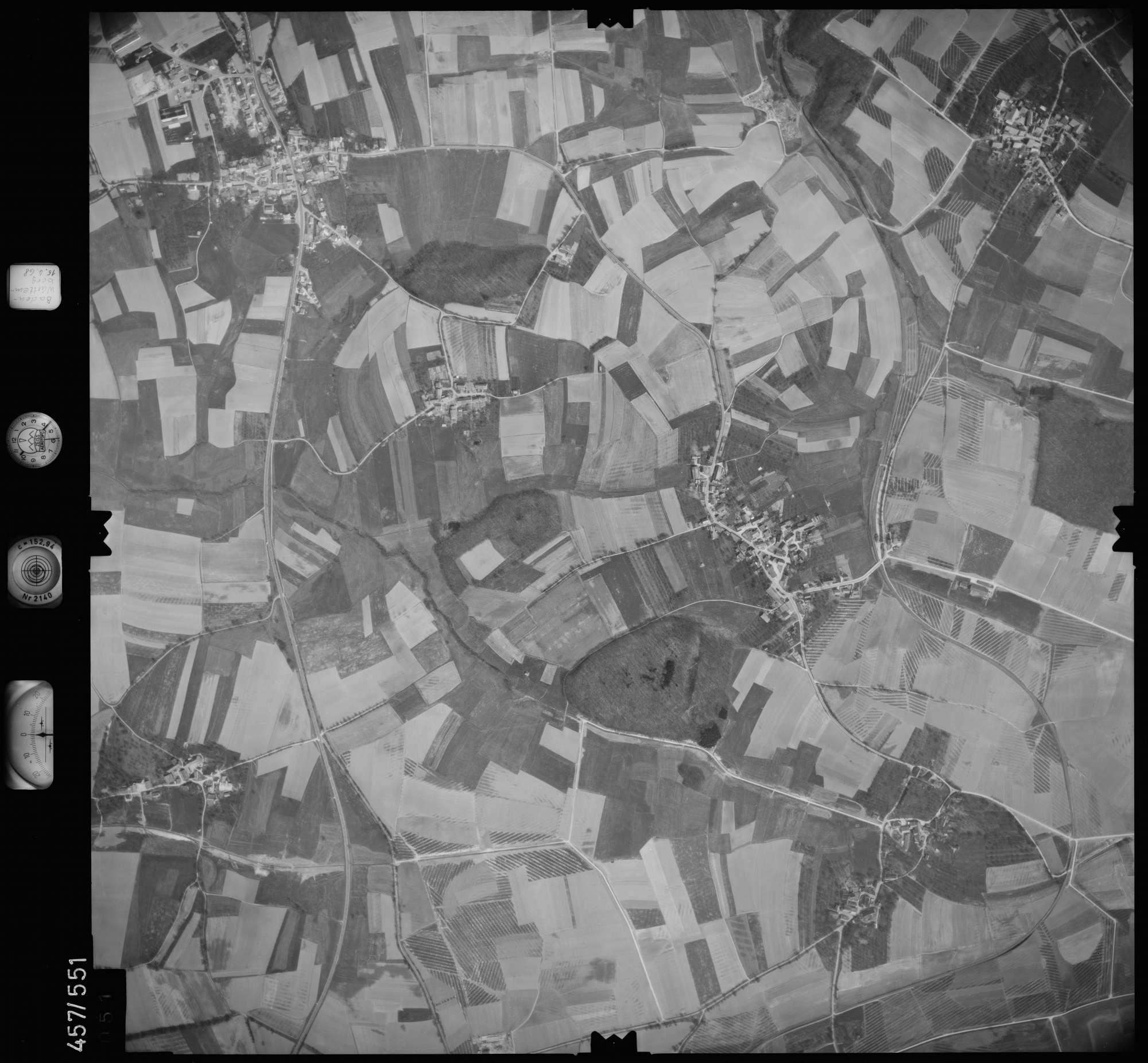 Luftbild: Film 105 Bildnr. 51, Bild 1