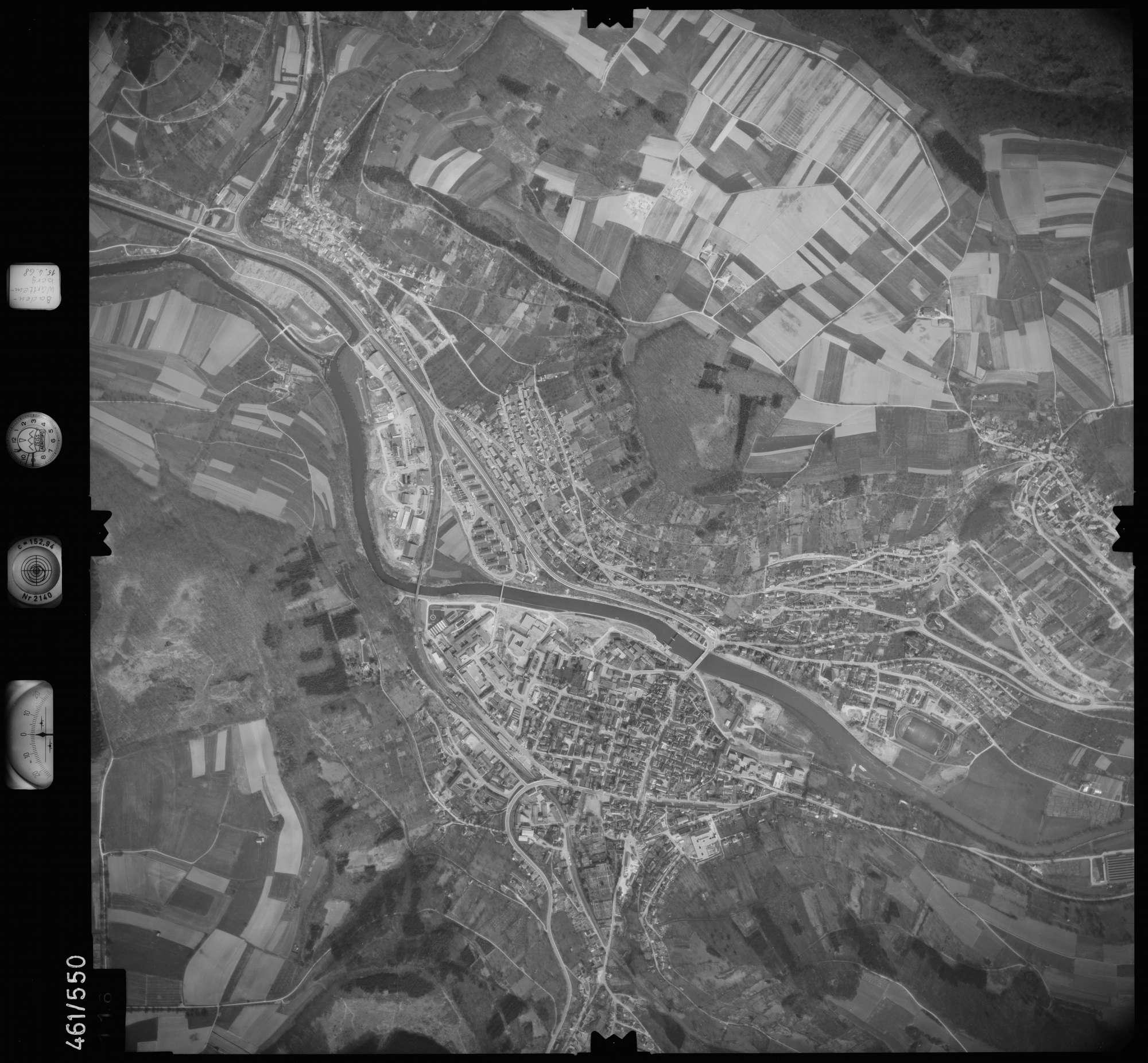 Luftbild: Film 105 Bildnr. 116, Bild 1
