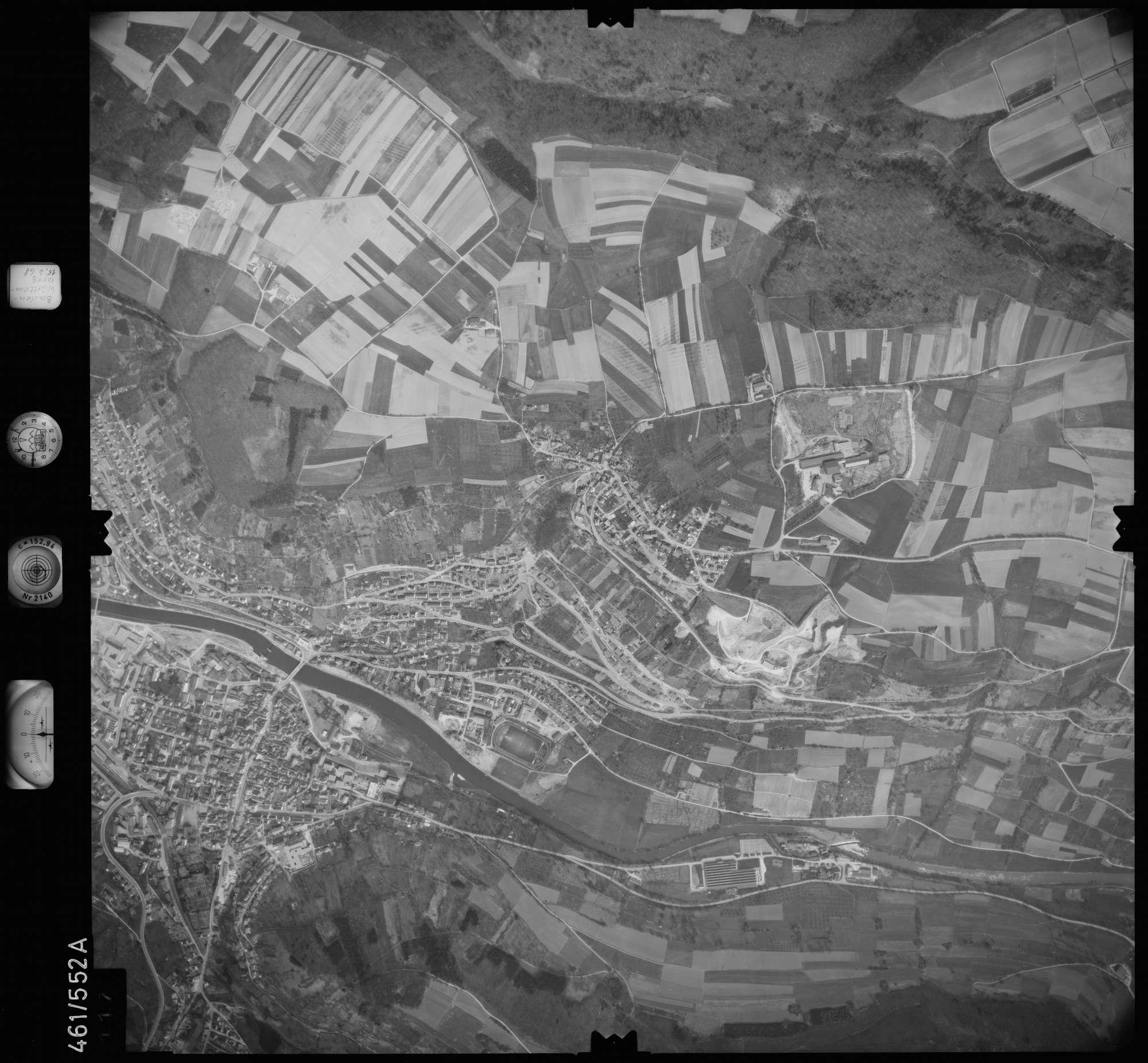 Luftbild: Film 105 Bildnr. 117, Bild 1