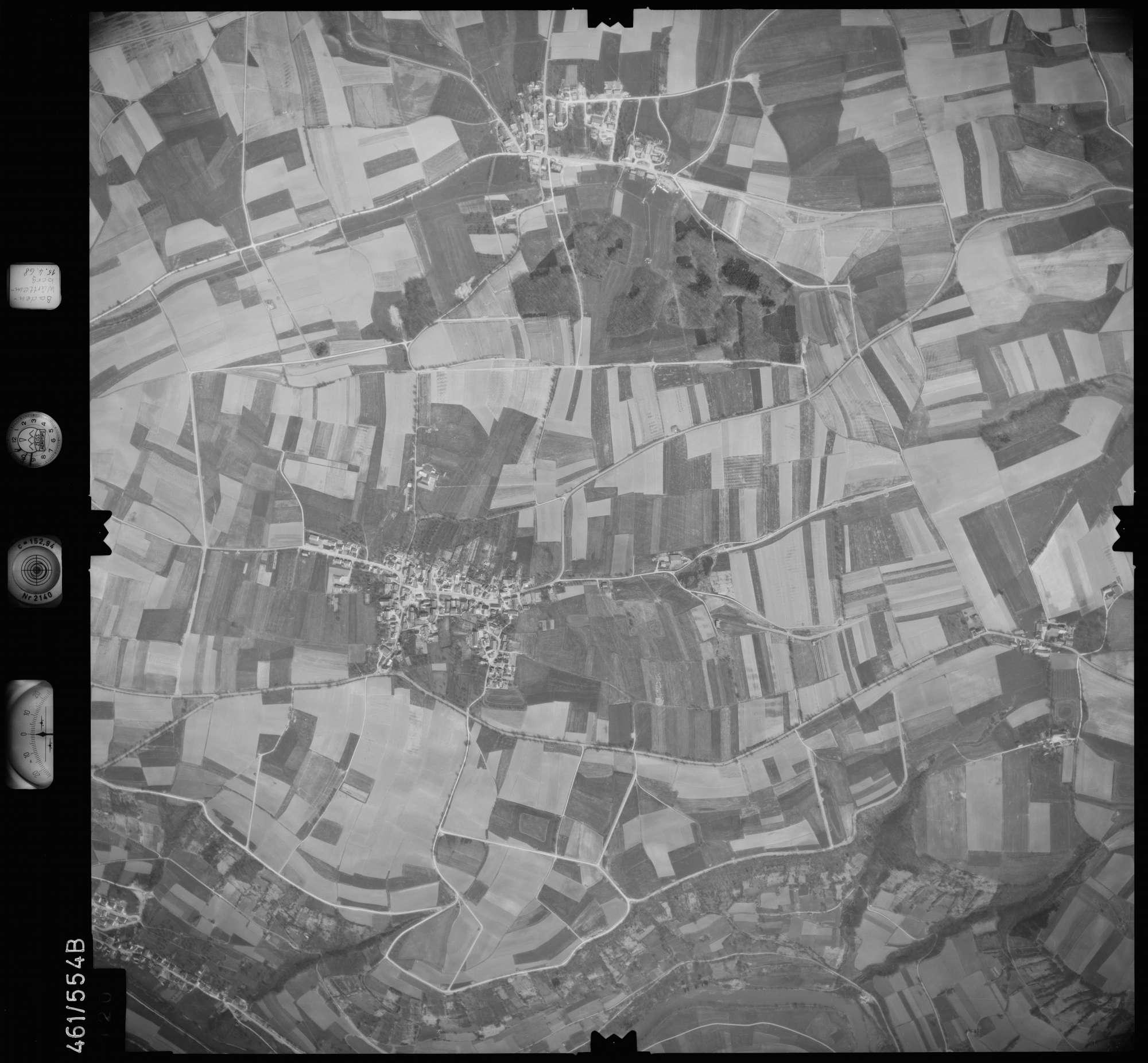 Luftbild: Film 105 Bildnr. 120, Bild 1