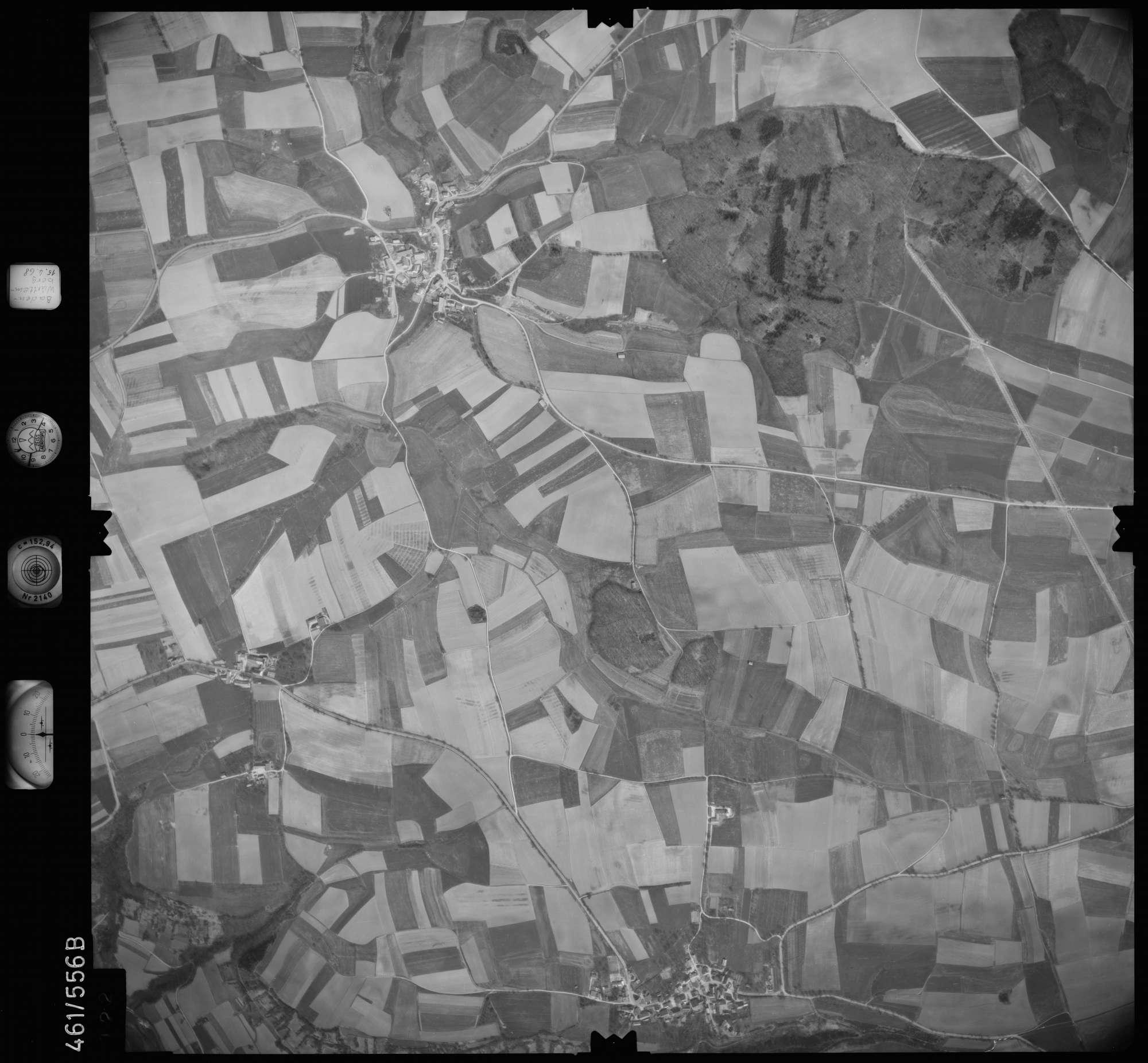 Luftbild: Film 105 Bildnr. 122, Bild 1
