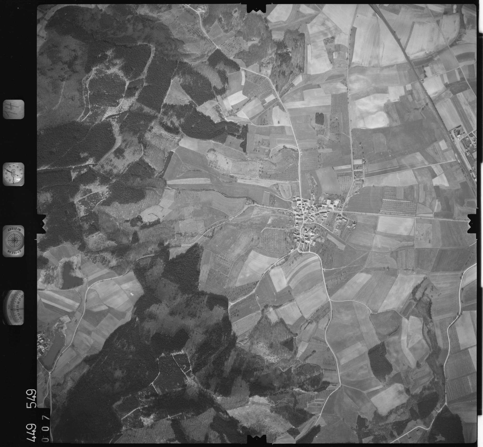 Luftbild: Film 14 Bildnr. 7, Bild 1
