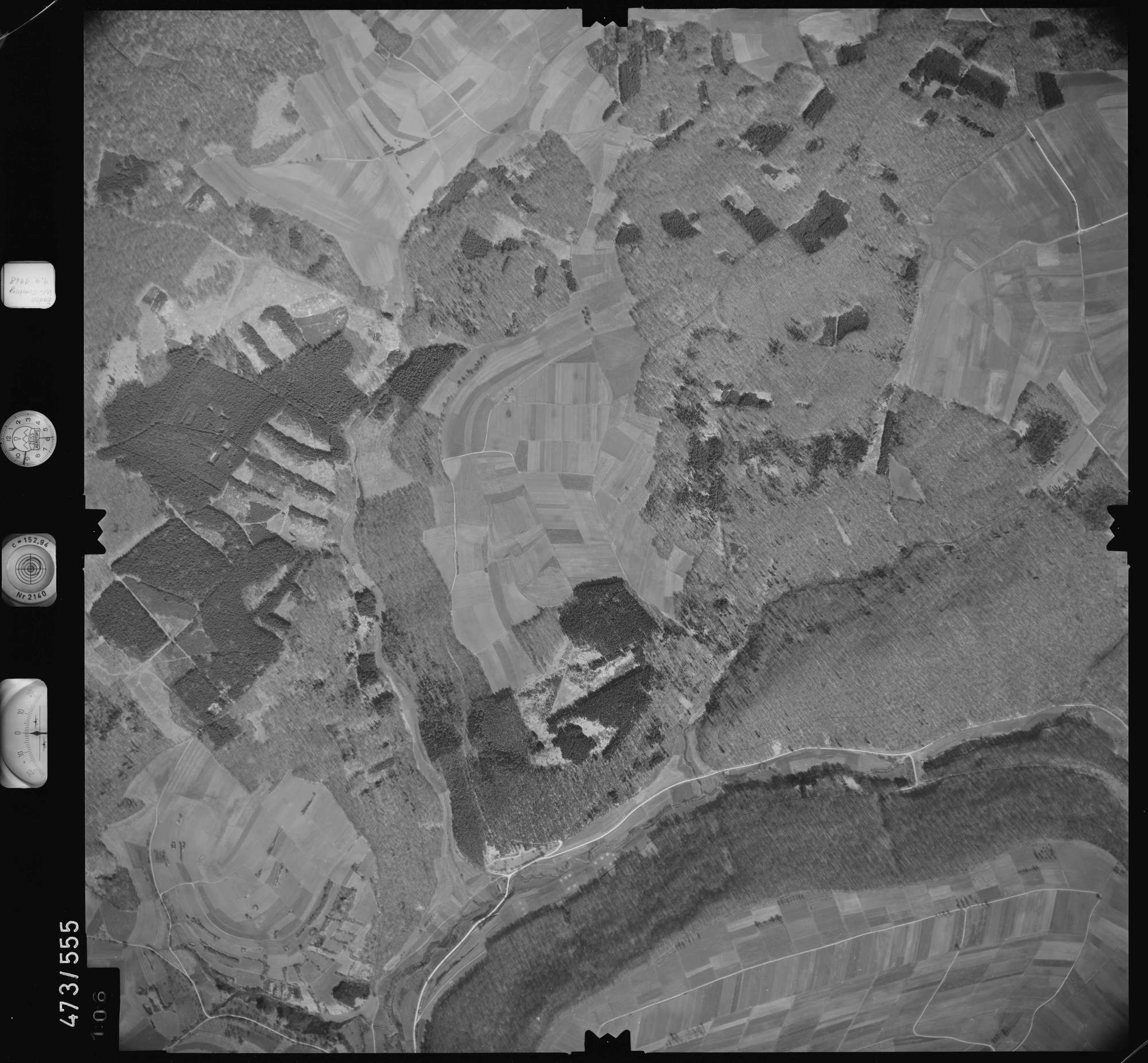 Luftbild: Film 100 Bildnr. 106, Bild 1