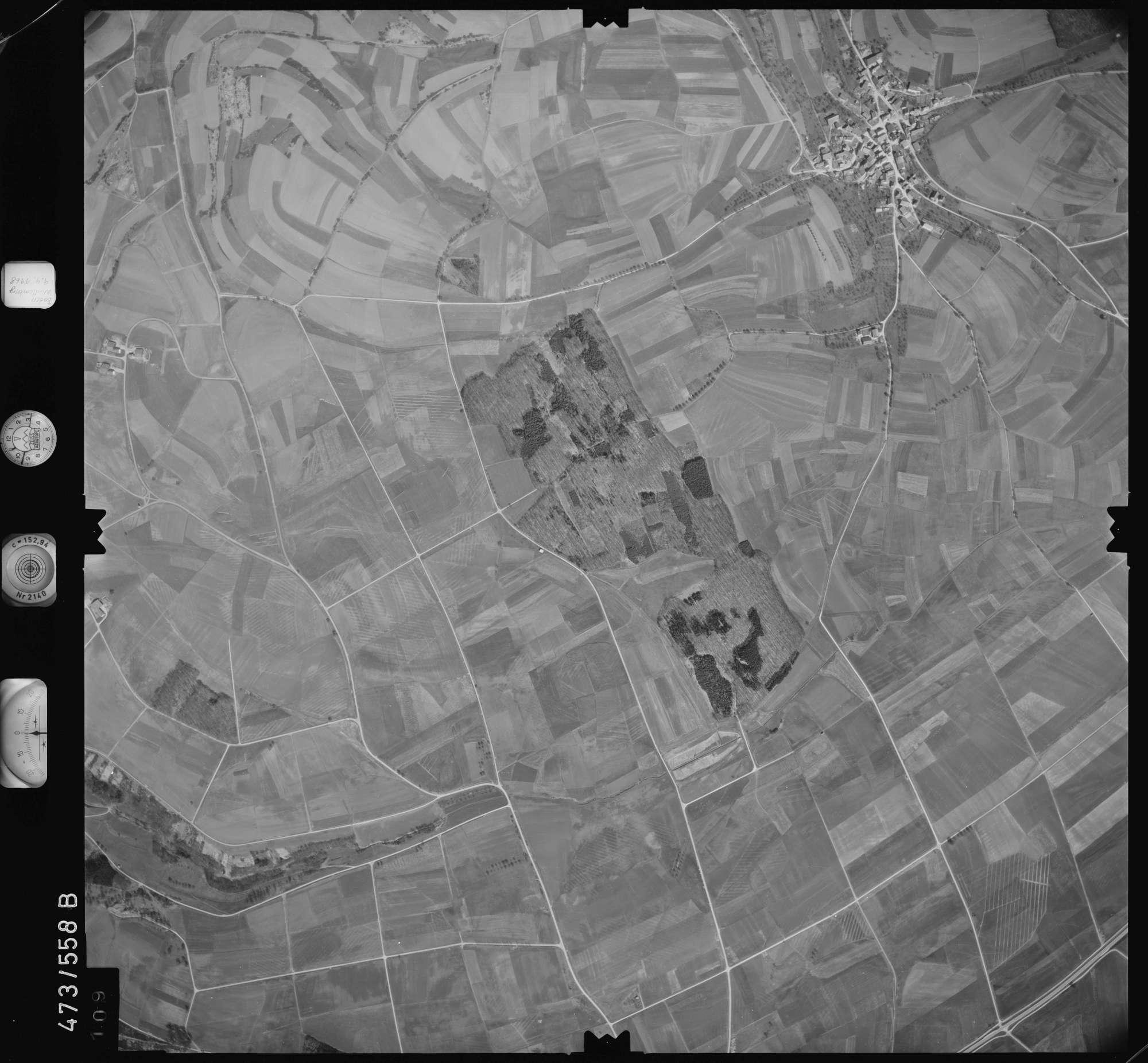 Luftbild: Film 100 Bildnr. 109, Bild 1