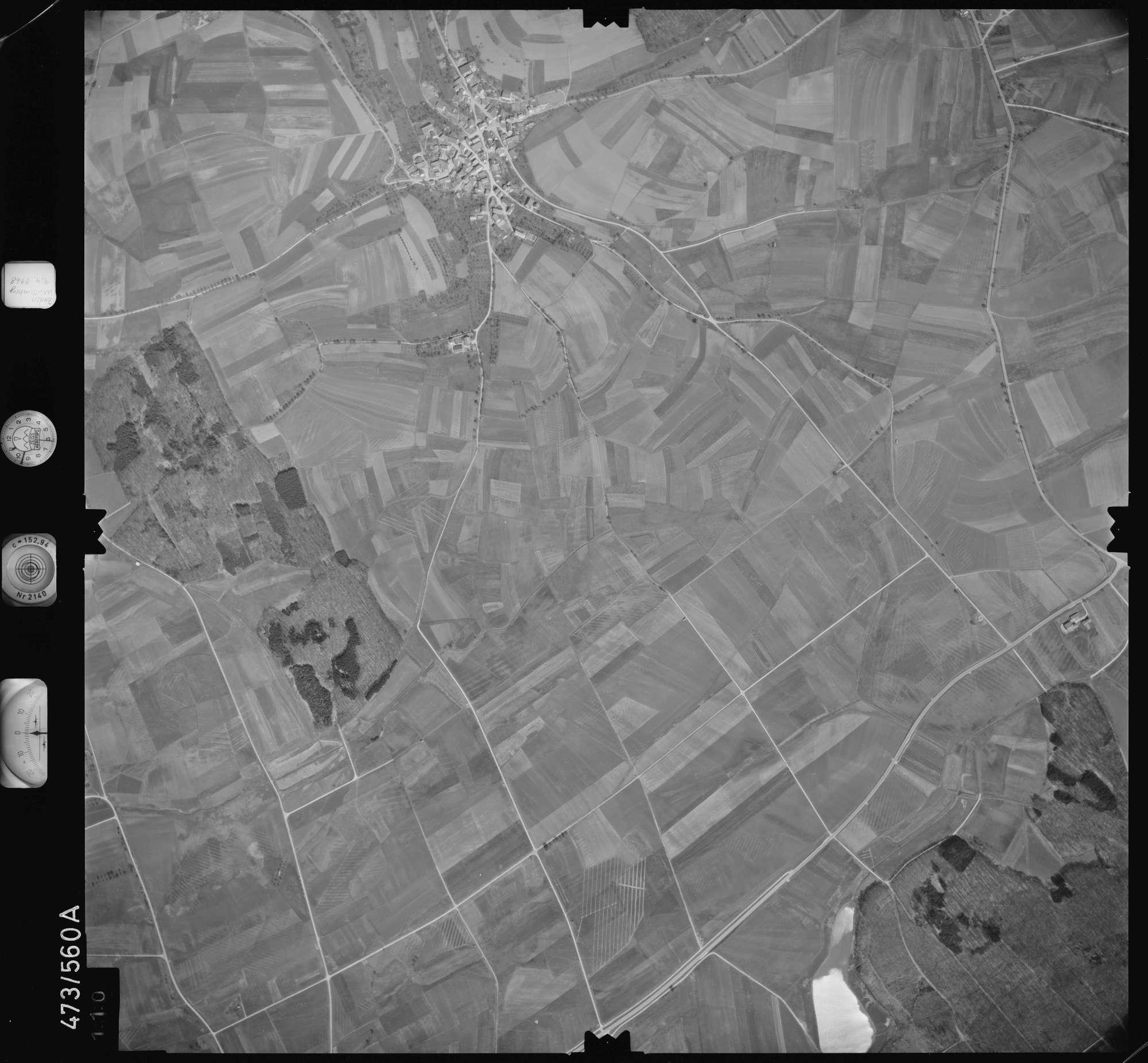 Luftbild: Film 100 Bildnr. 110, Bild 1