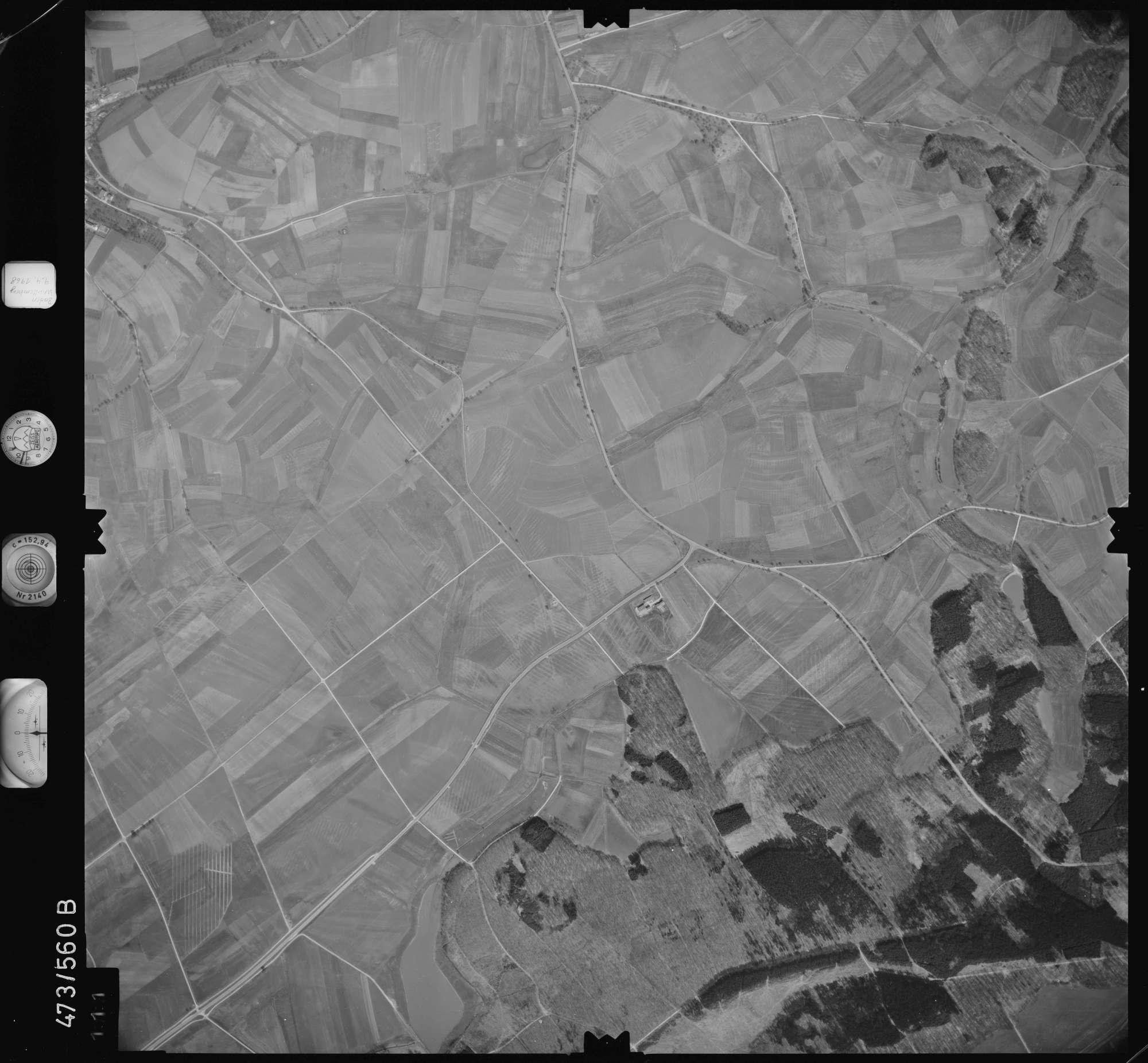Luftbild: Film 100 Bildnr. 111, Bild 1