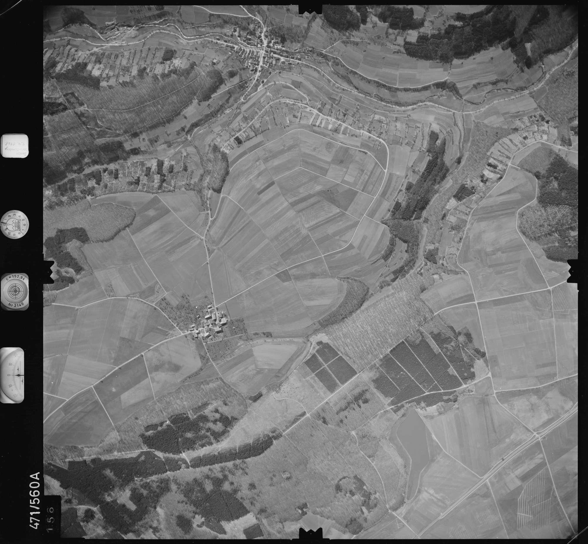 Luftbild: Film 100 Bildnr. 156, Bild 1