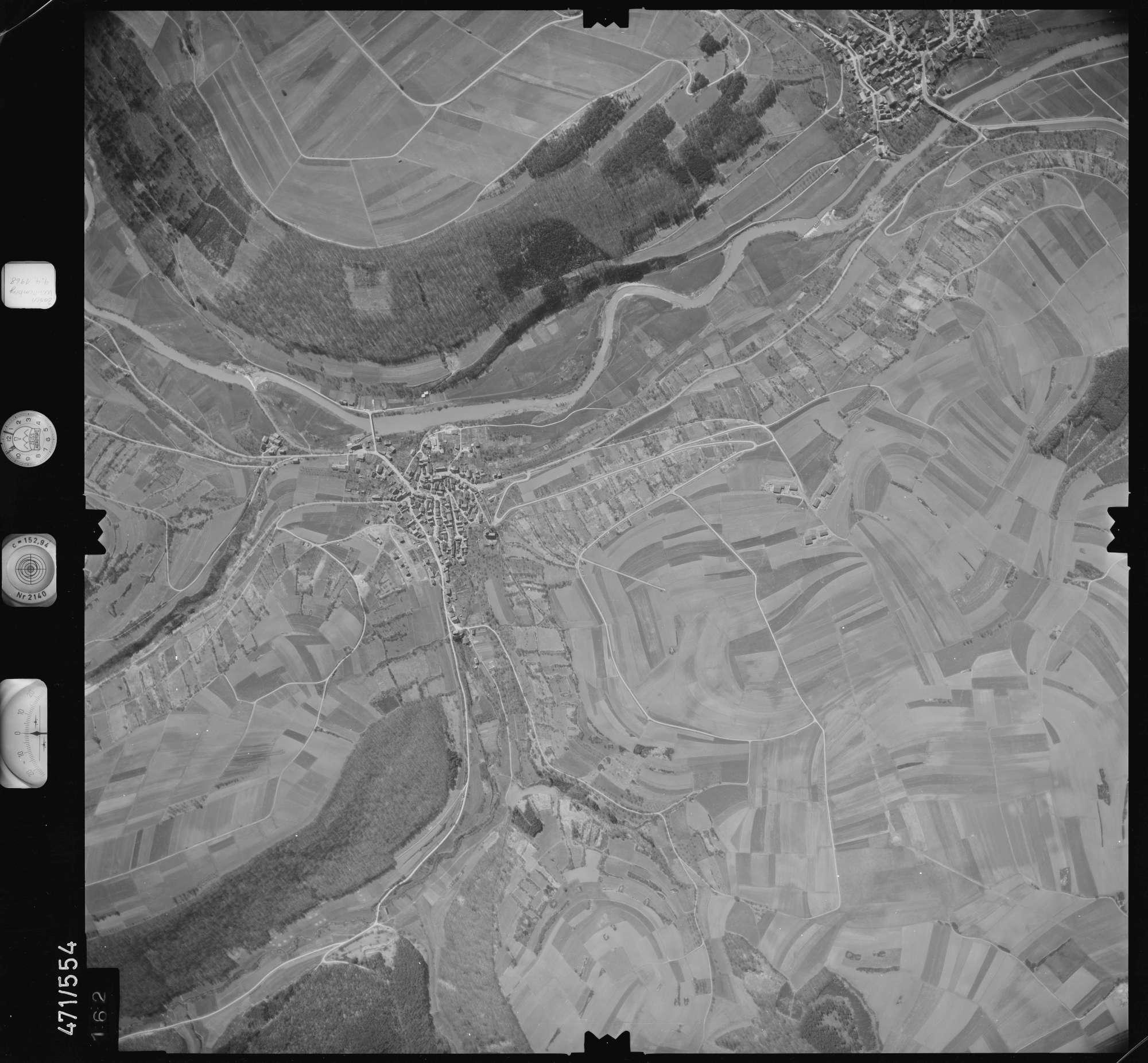 Luftbild: Film 100 Bildnr. 162, Bild 1
