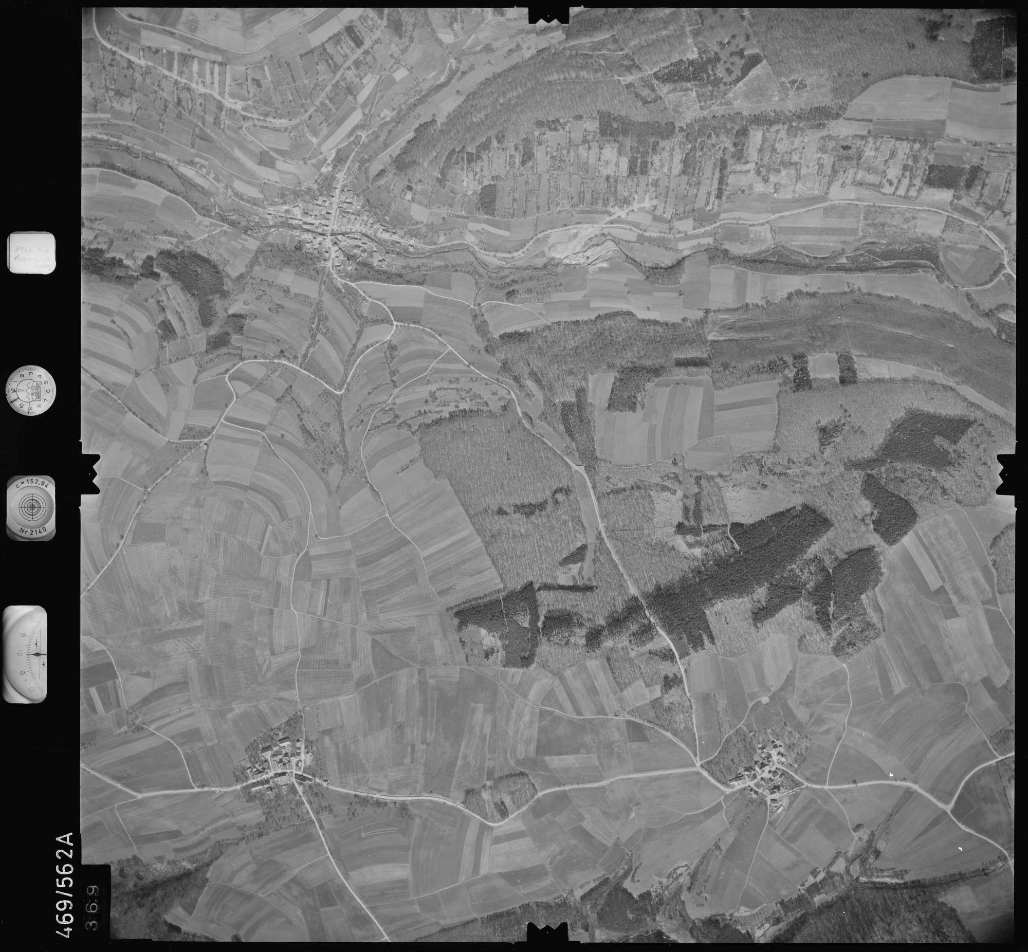 Luftbild: Film 101 Bildnr. 369, Bild 1