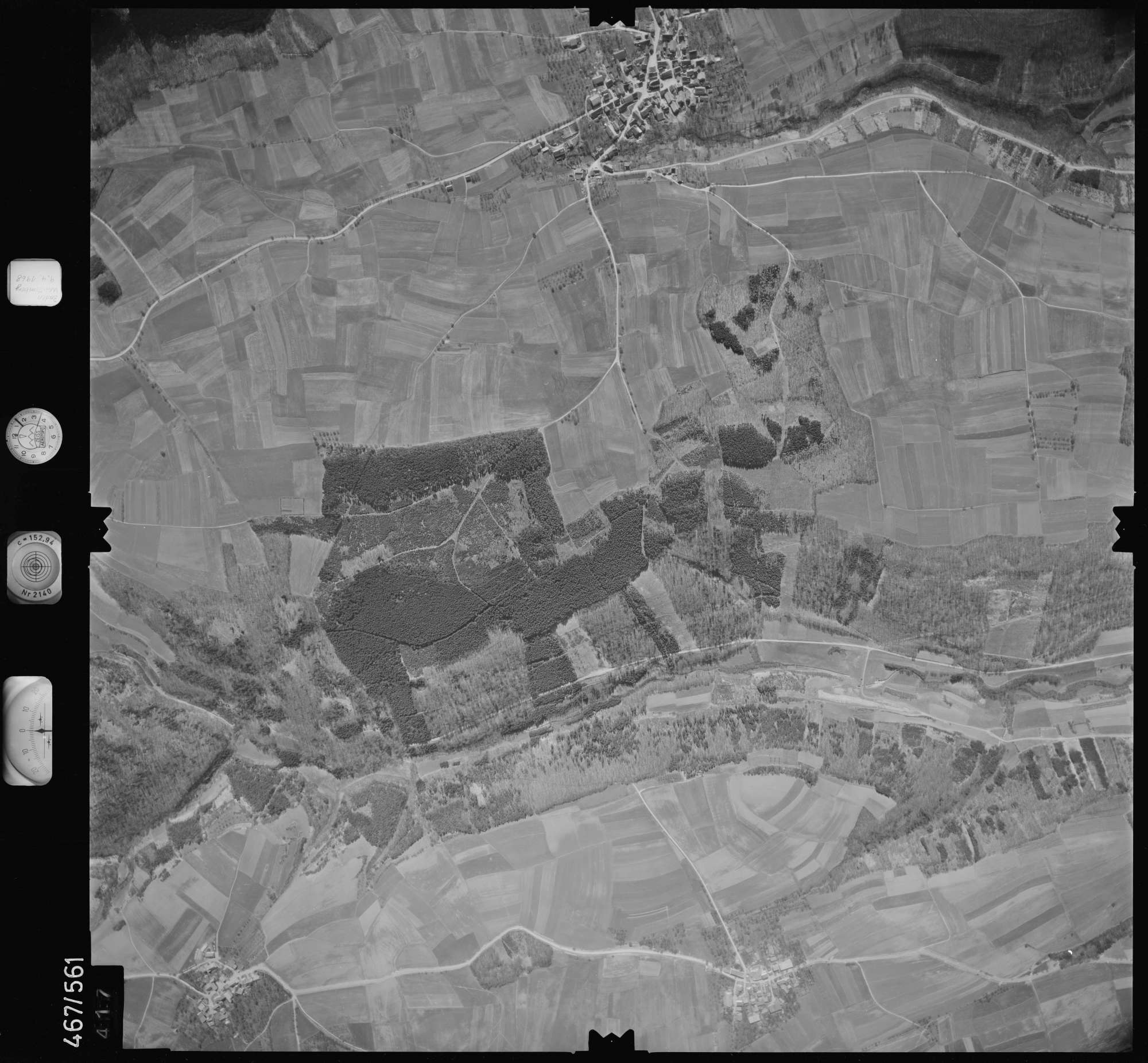 Luftbild: Film 101 Bildnr. 417, Bild 1