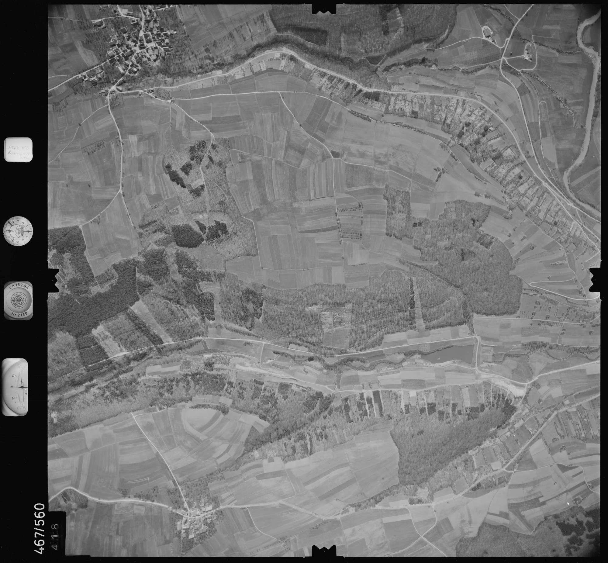 Luftbild: Film 101 Bildnr. 418, Bild 1