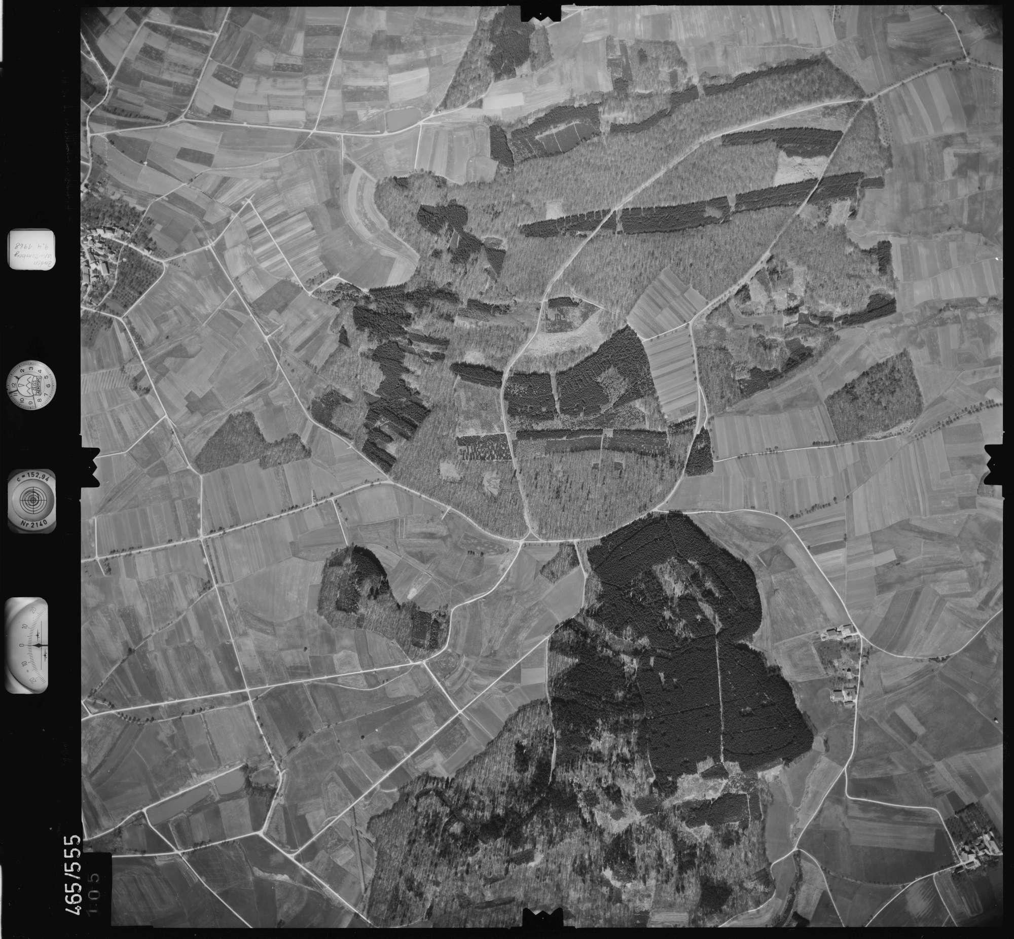 Luftbild: Film 102 Bildnr. 105, Bild 1