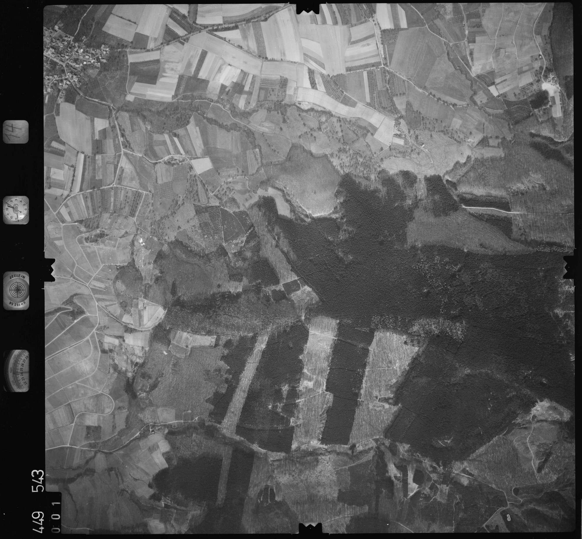 Luftbild: Film 14 Bildnr. 1, Bild 1