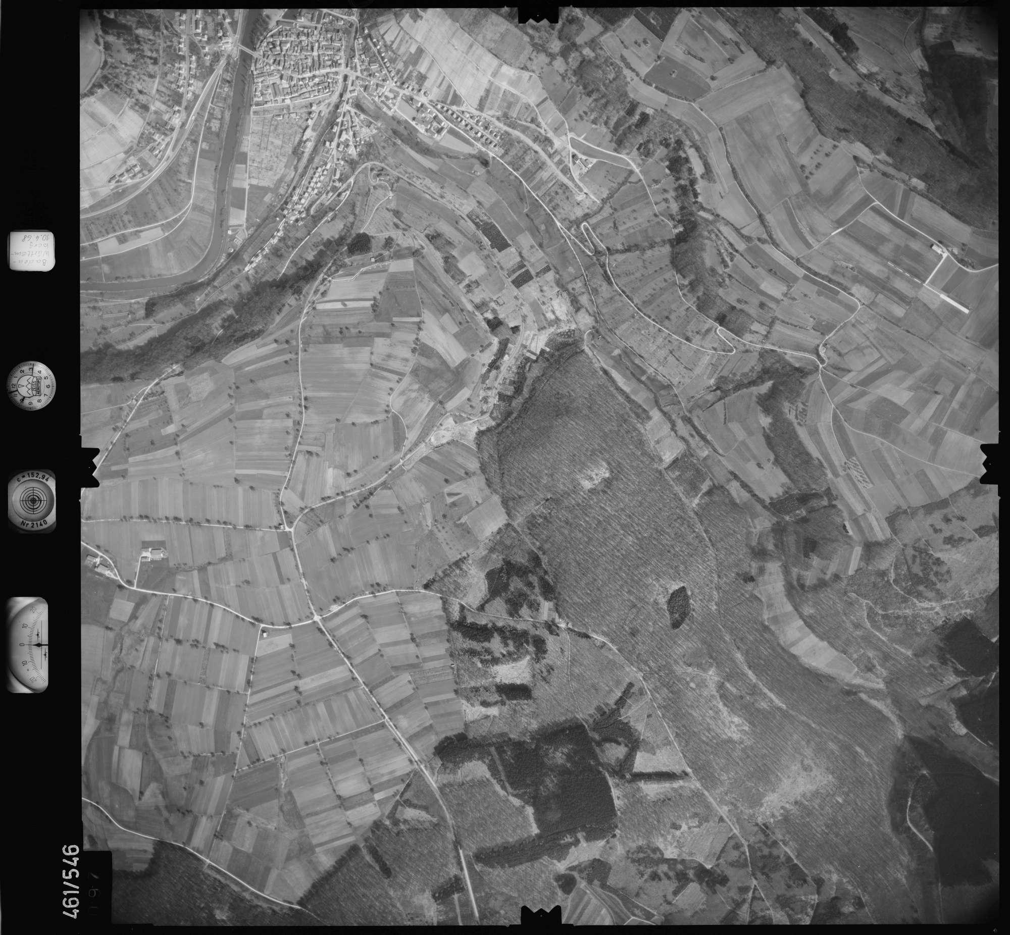 Luftbild: Film 103 Bildnr. 97, Bild 1