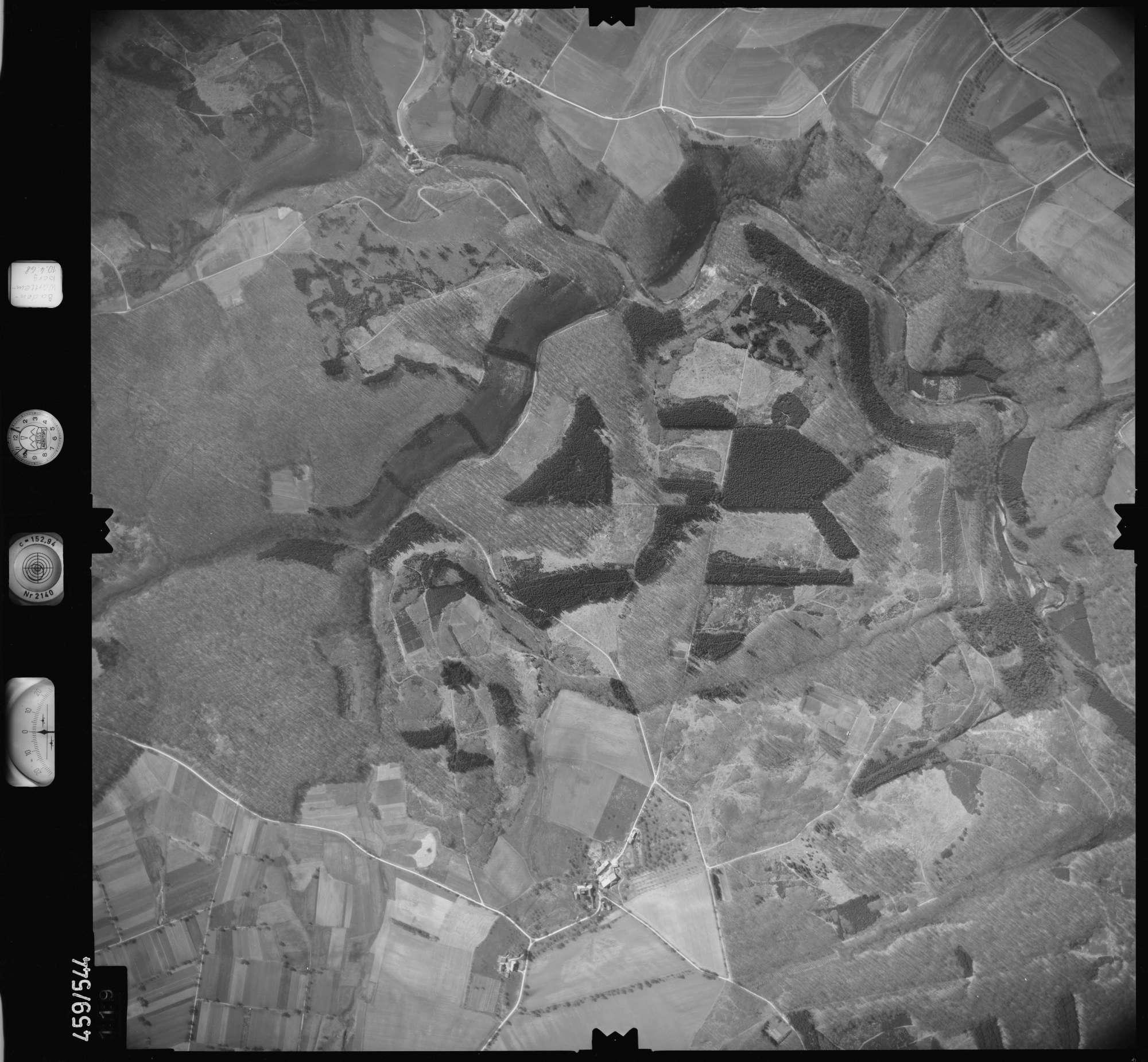 Luftbild: Film 103 Bildnr. 119, Bild 1