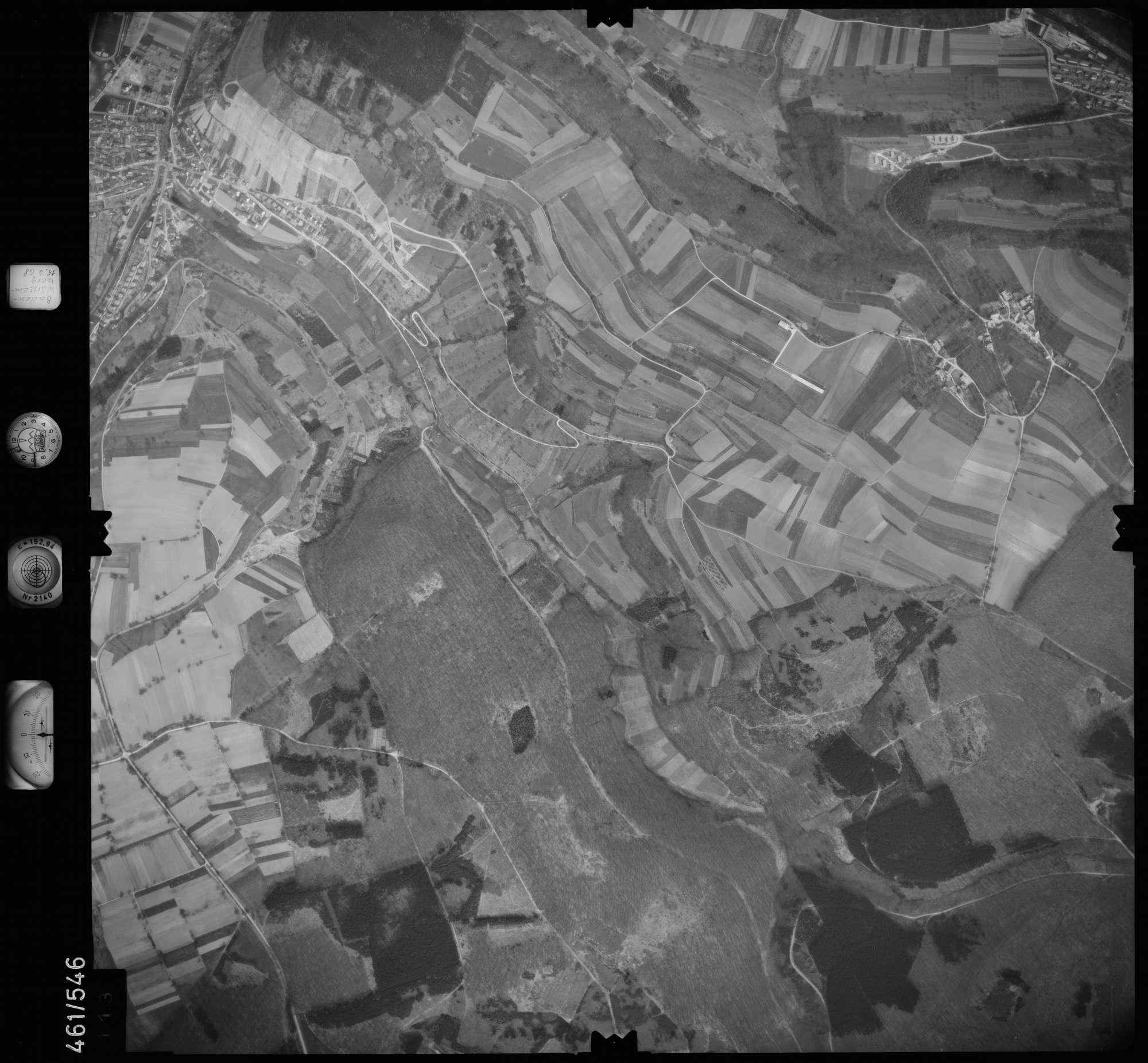 Luftbild: Film 105 Bildnr. 113, Bild 1