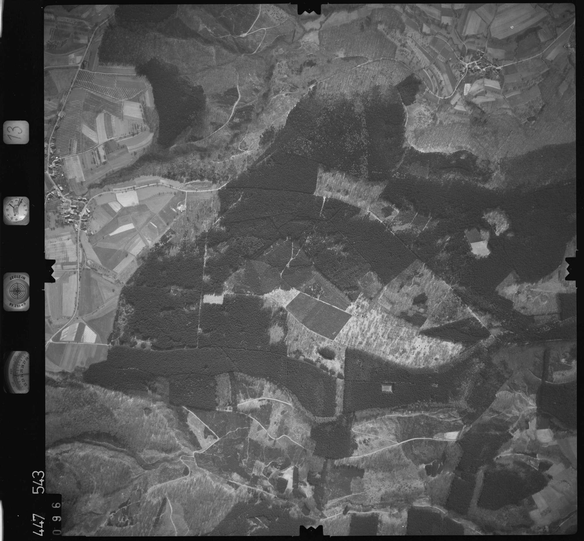 Luftbild: Film 13 Bildnr. 96, Bild 1