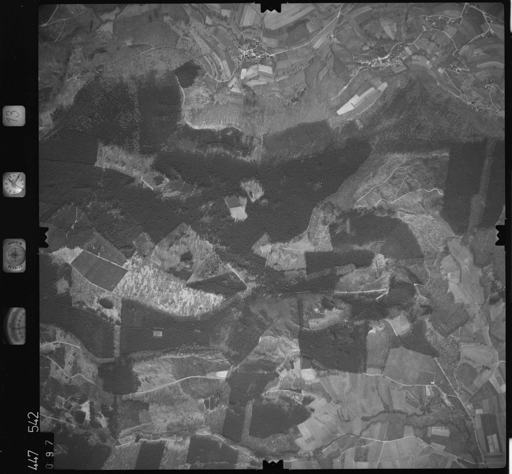 Luftbild: Film 13 Bildnr. 97, Bild 1