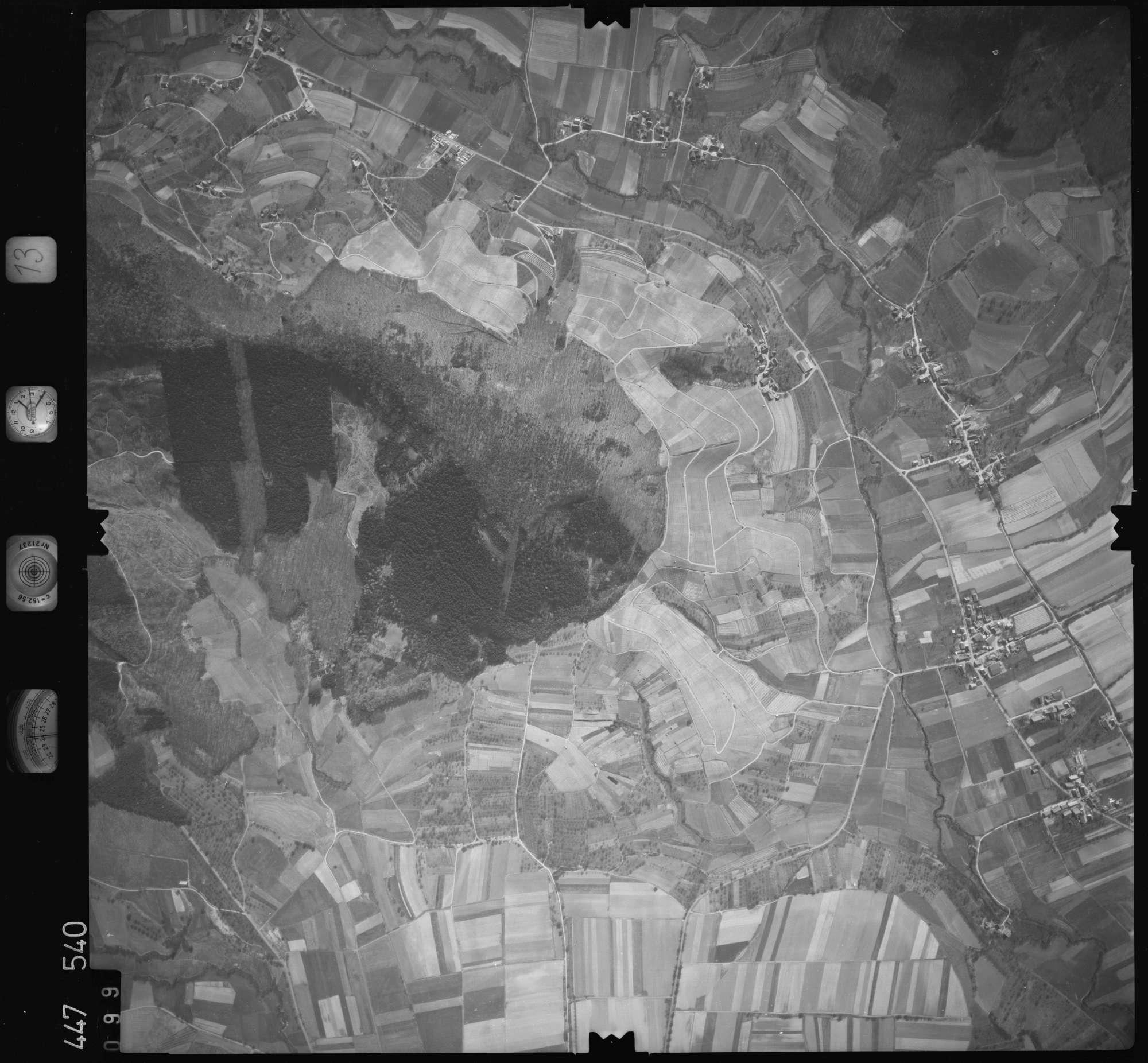 Luftbild: Film 13 Bildnr. 99, Bild 1