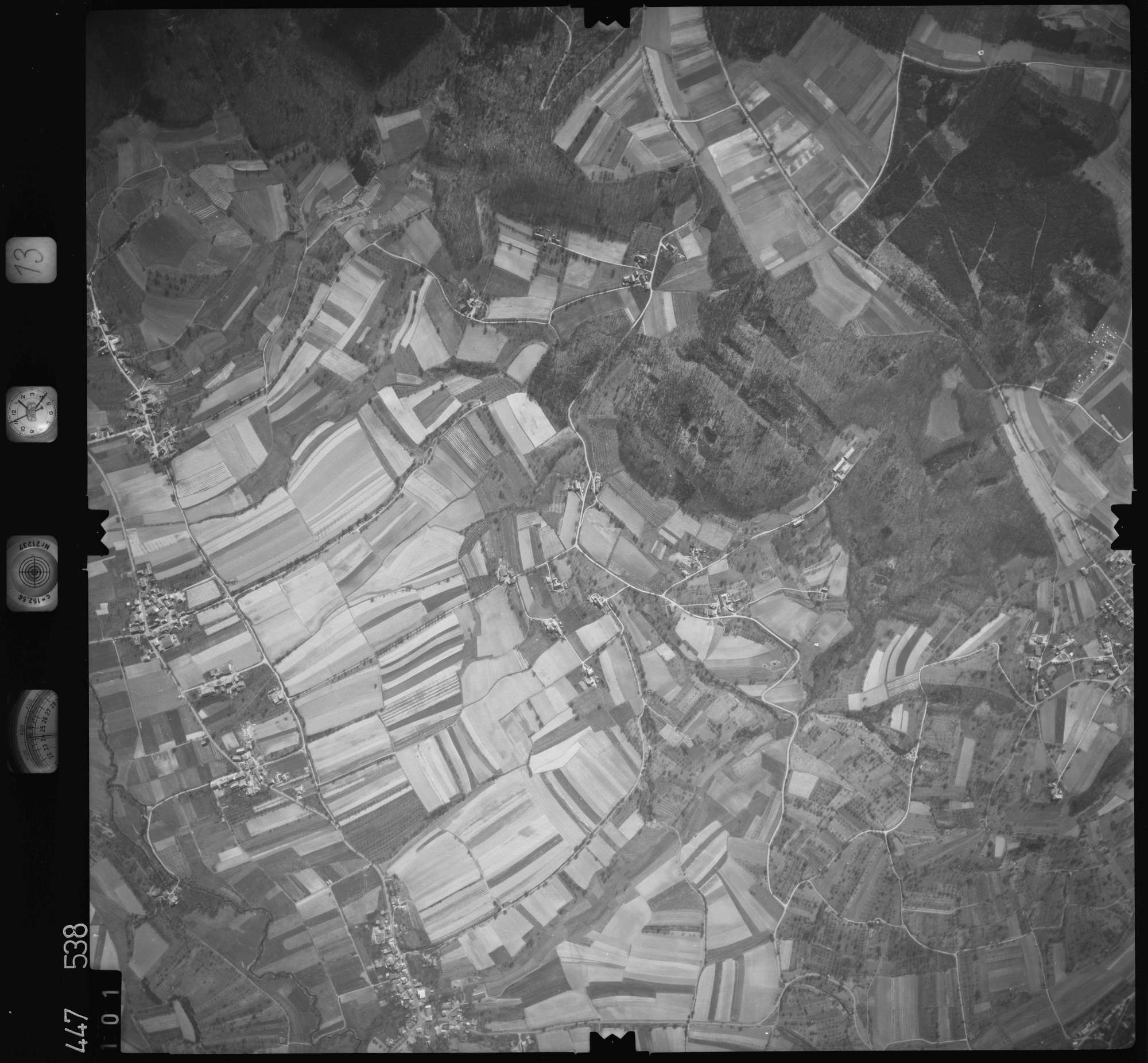 Luftbild: Film 13 Bildnr. 101, Bild 1
