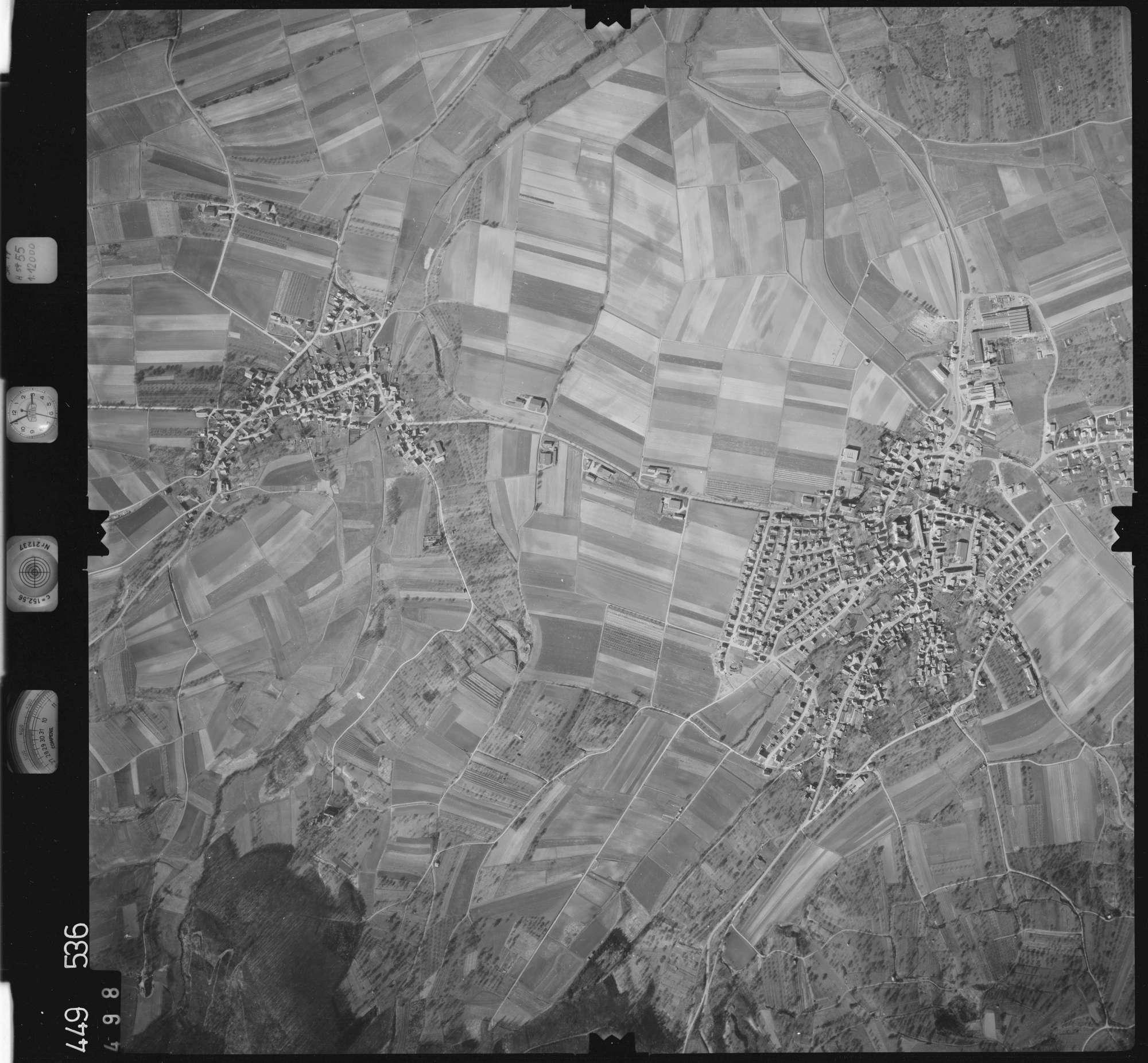 Luftbild: Film 14 Bildnr. 498, Bild 1
