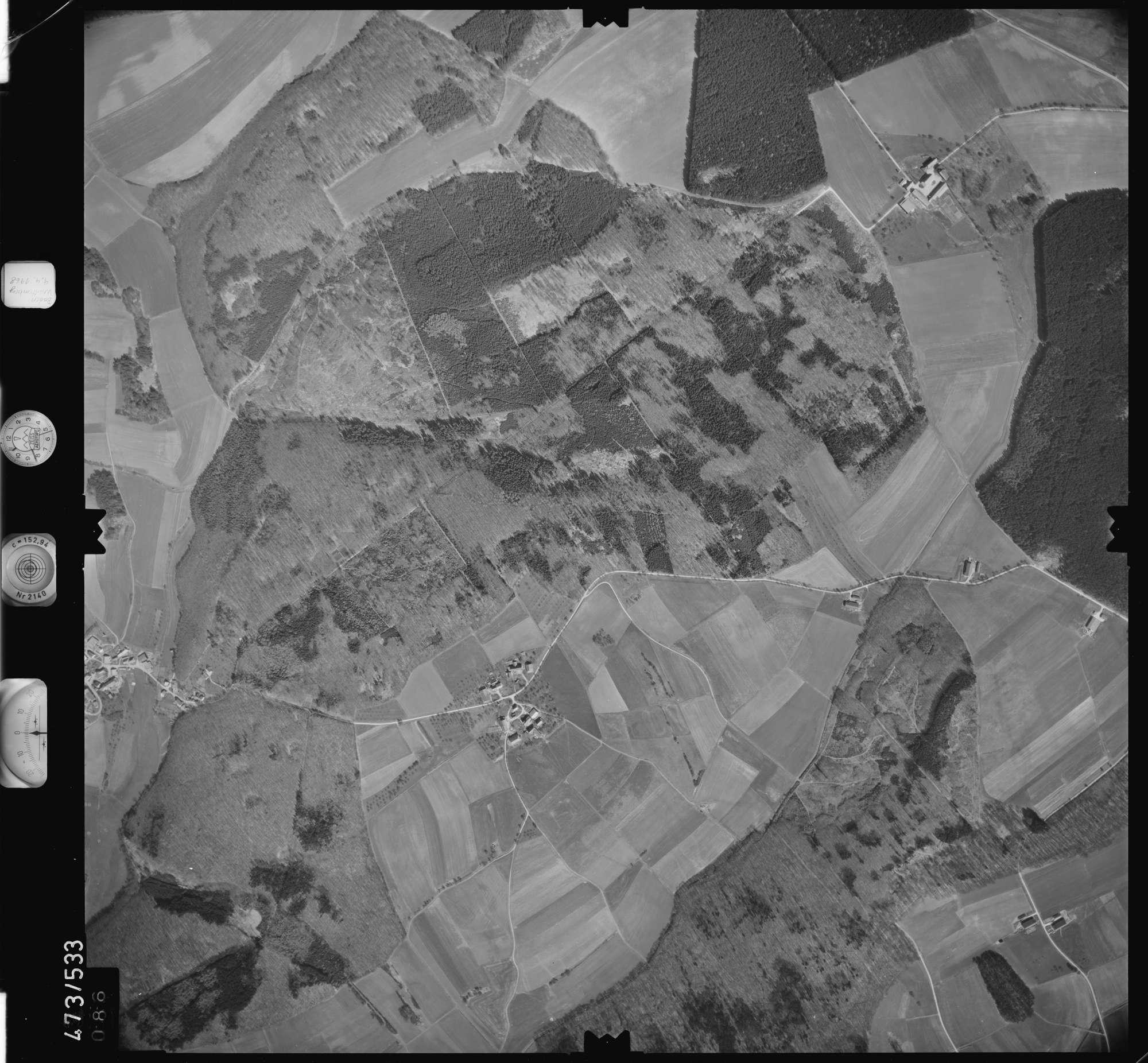 Luftbild: Film 100 Bildnr. 86, Bild 1