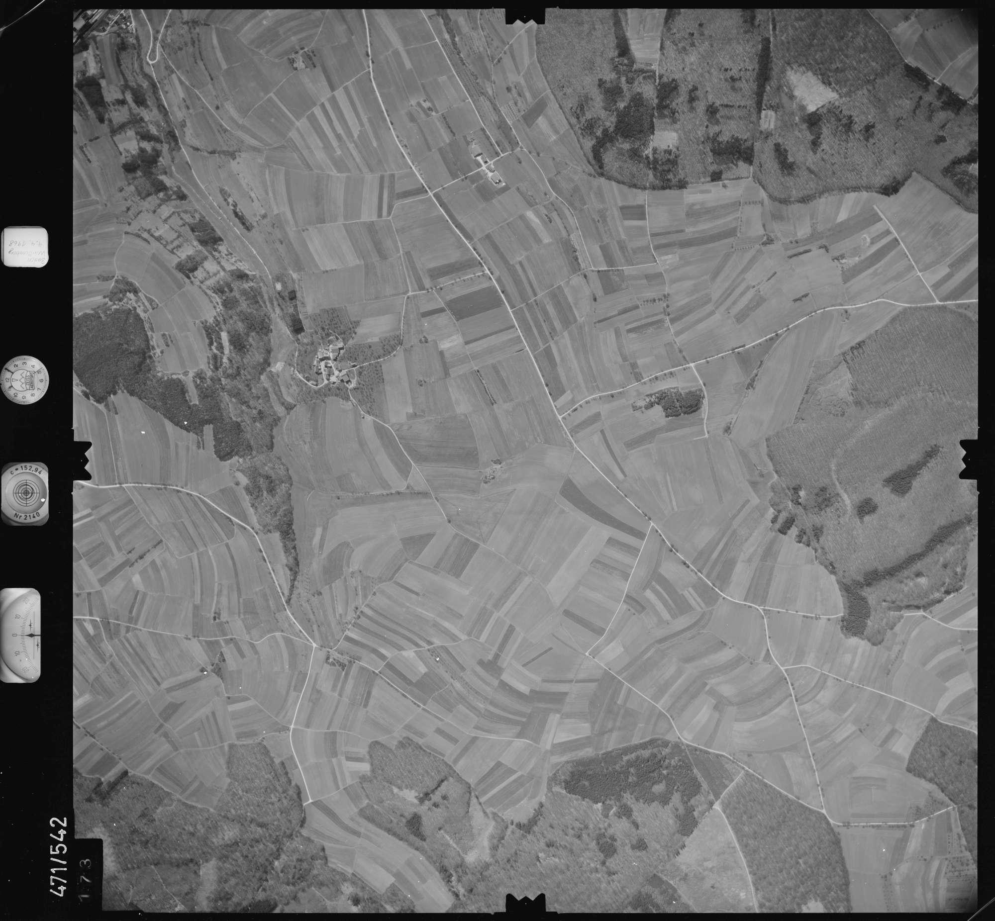 Luftbild: Film 100 Bildnr. 173, Bild 1