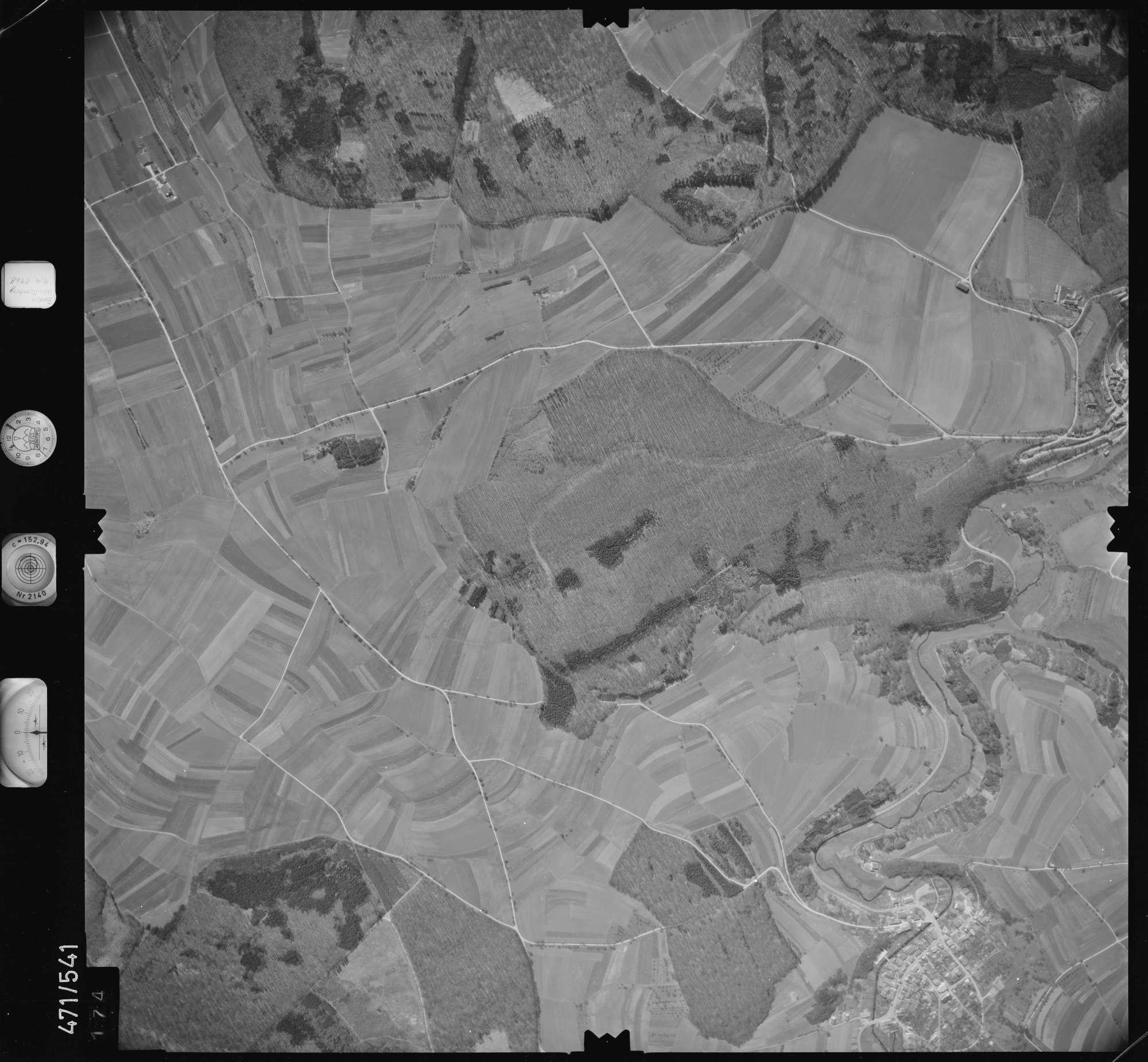 Luftbild: Film 100 Bildnr. 174, Bild 1