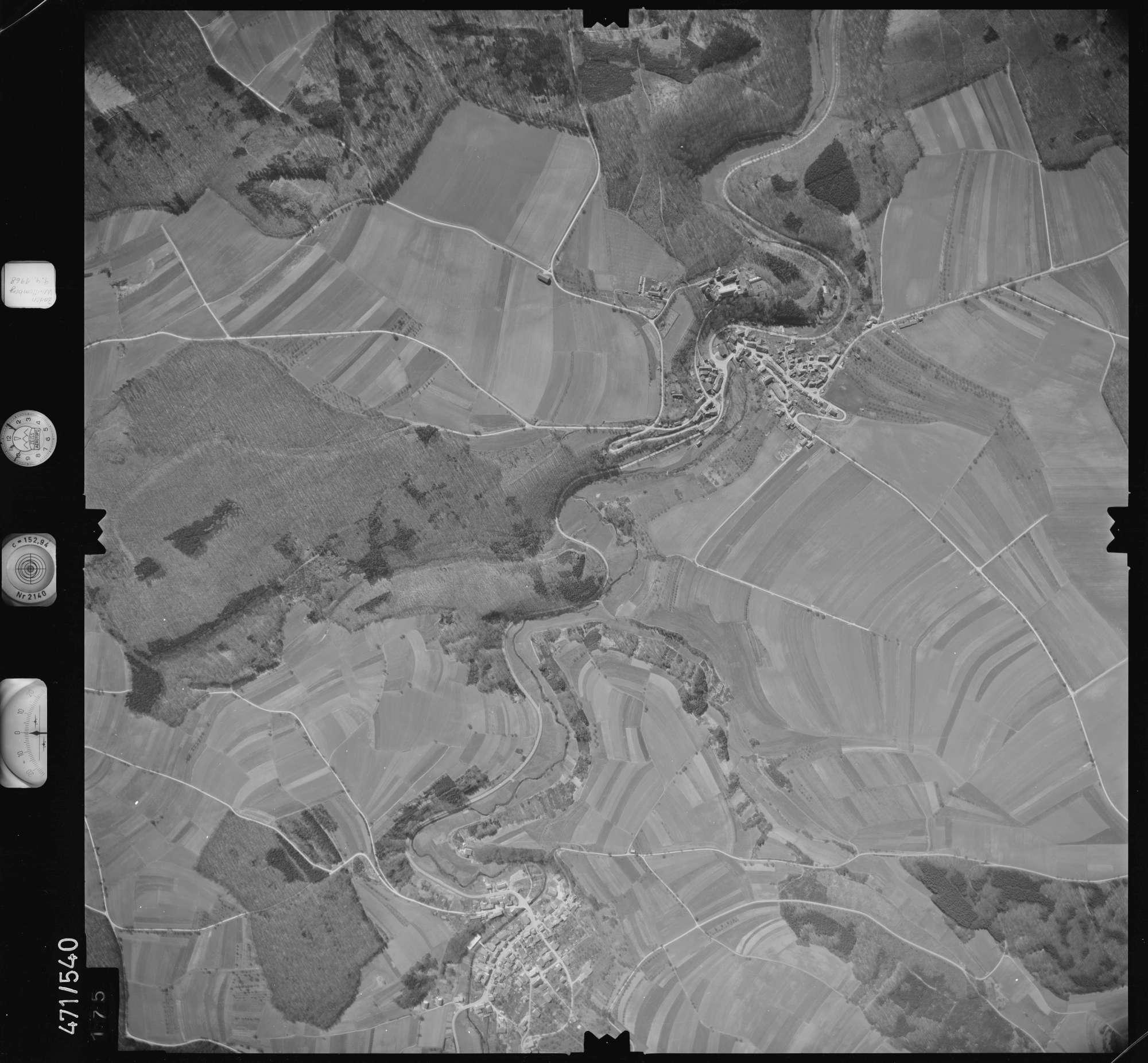 Luftbild: Film 100 Bildnr. 175, Bild 1