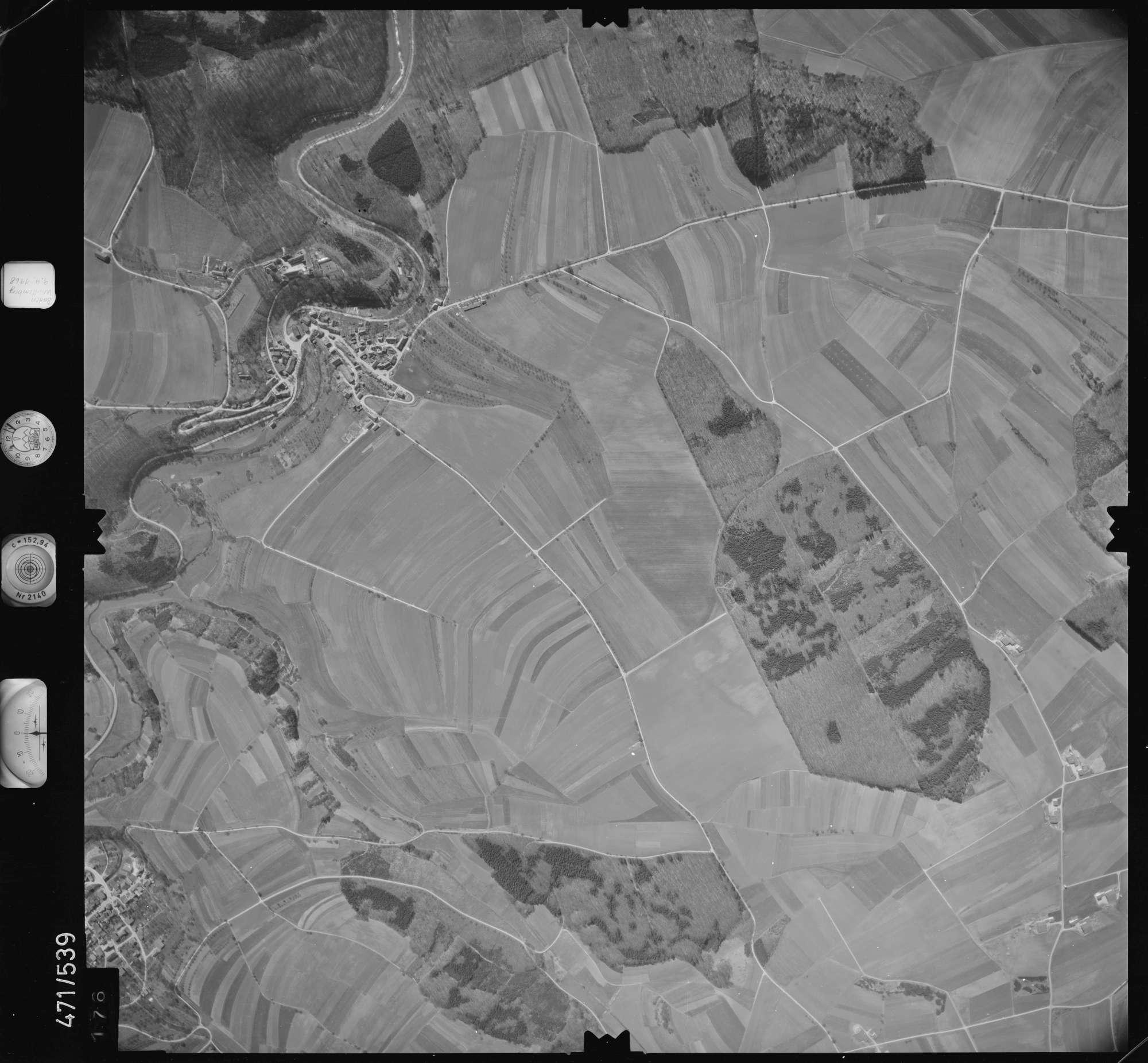 Luftbild: Film 100 Bildnr. 176, Bild 1