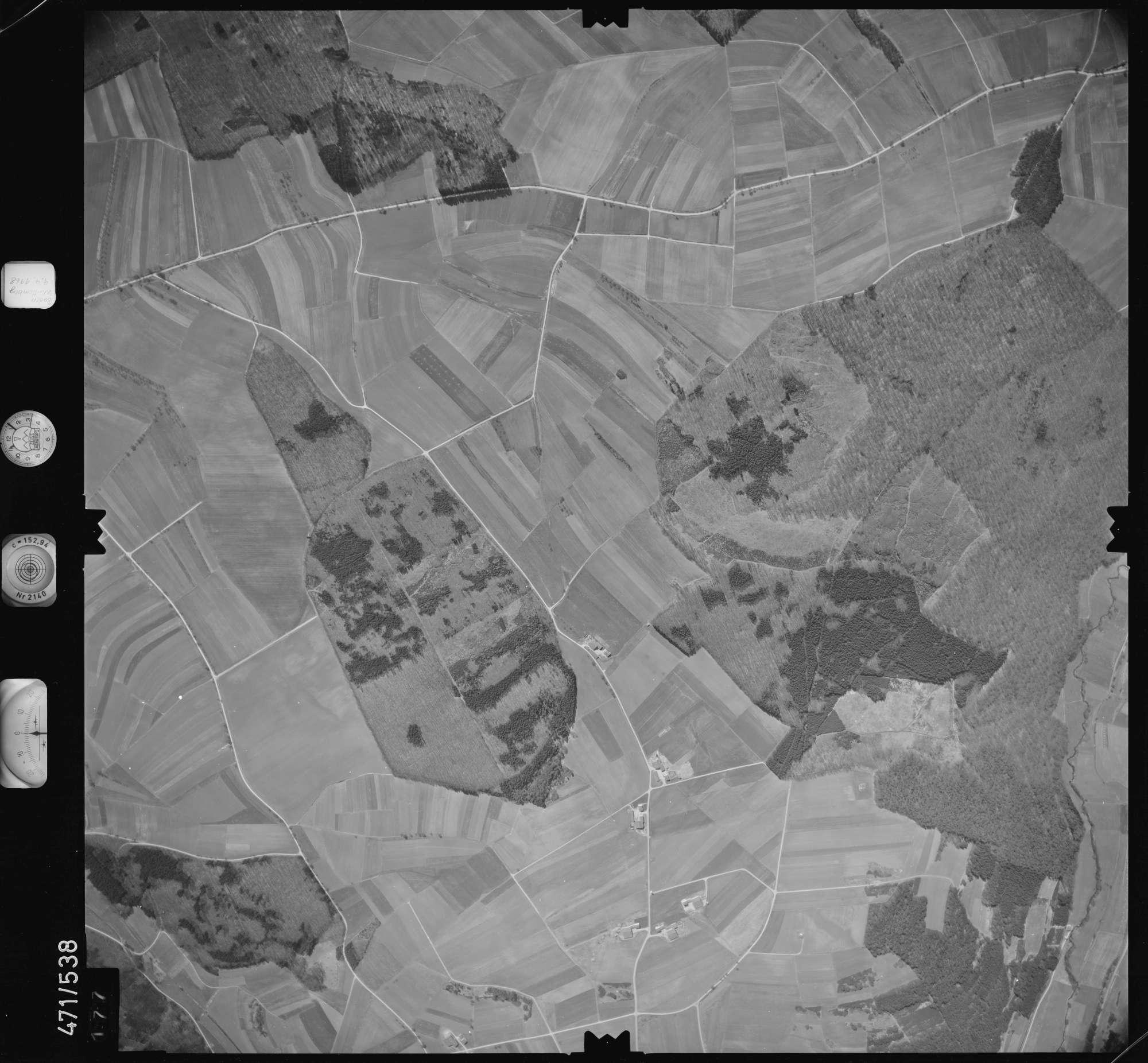 Luftbild: Film 100 Bildnr. 177, Bild 1