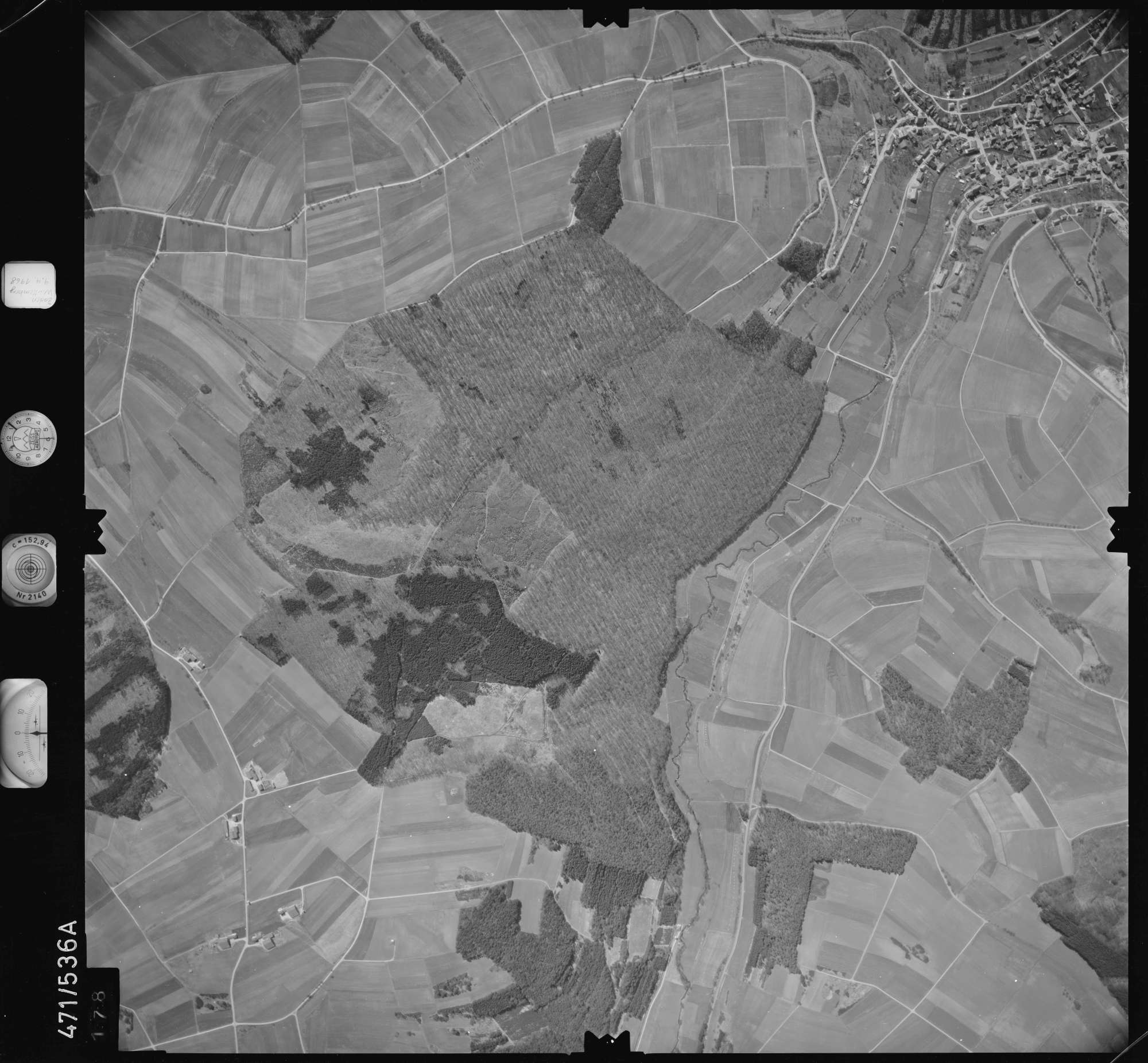 Luftbild: Film 100 Bildnr. 178, Bild 1