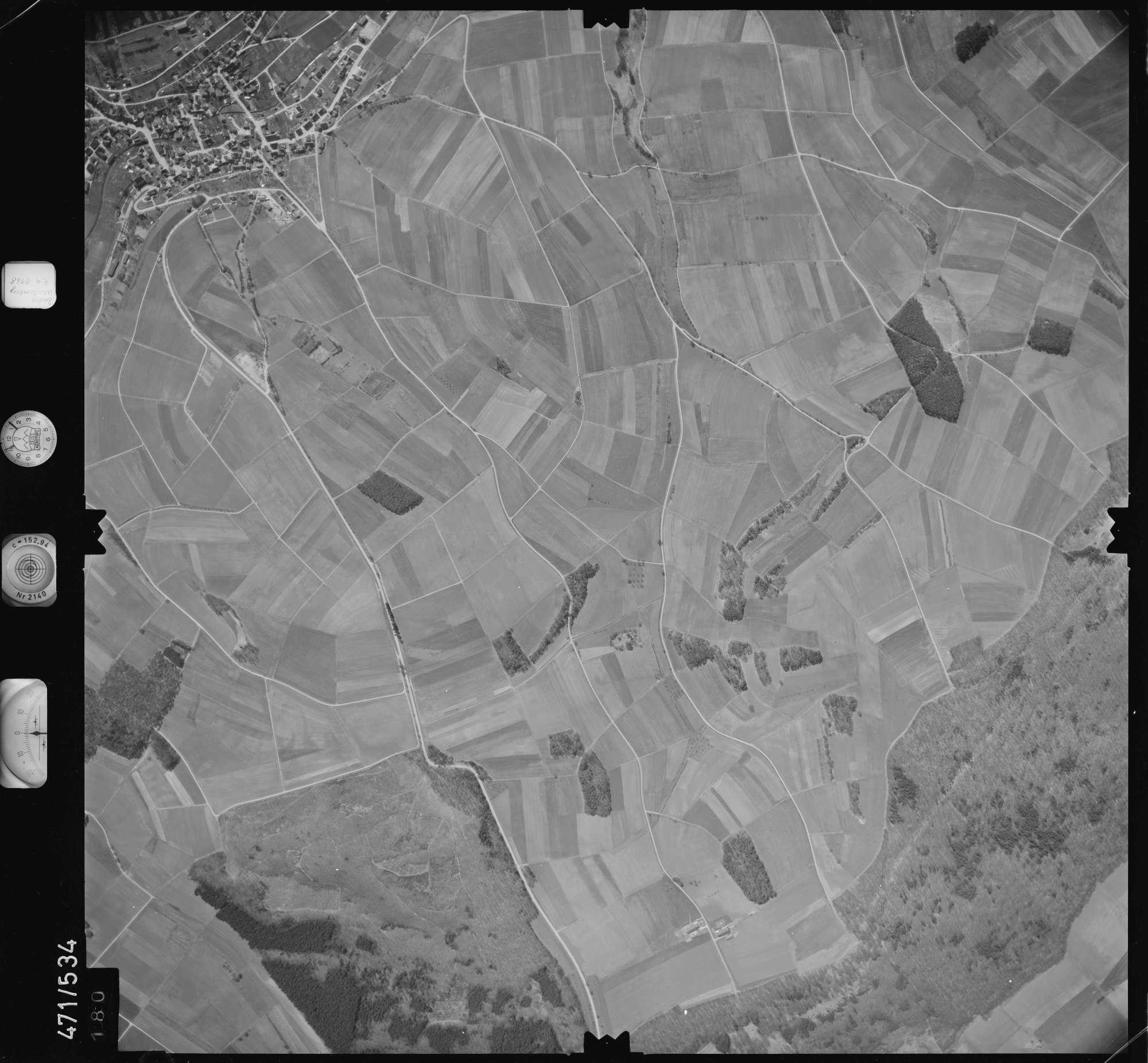 Luftbild: Film 100 Bildnr. 180, Bild 1