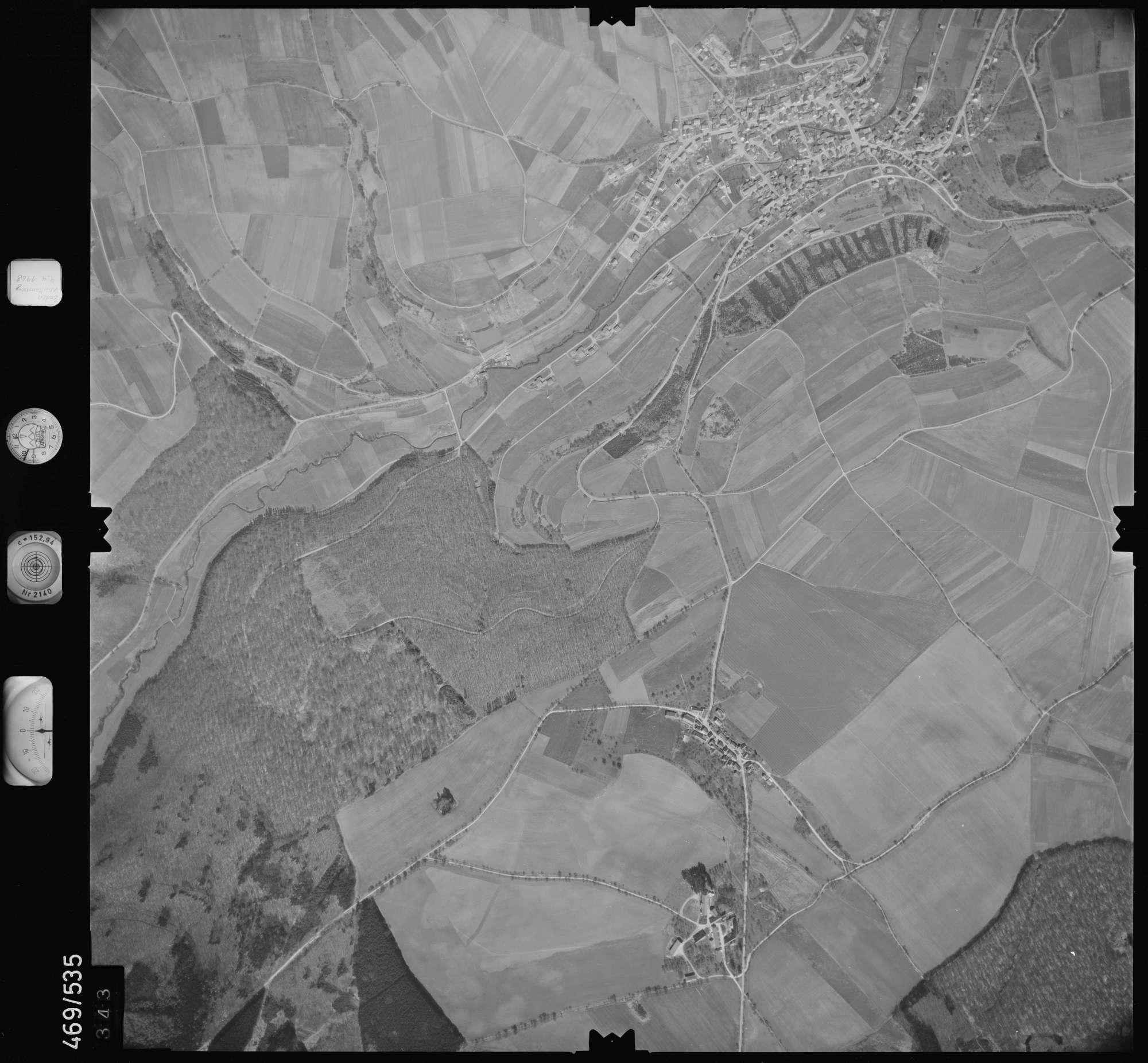 Luftbild: Film 101 Bildnr. 343, Bild 1