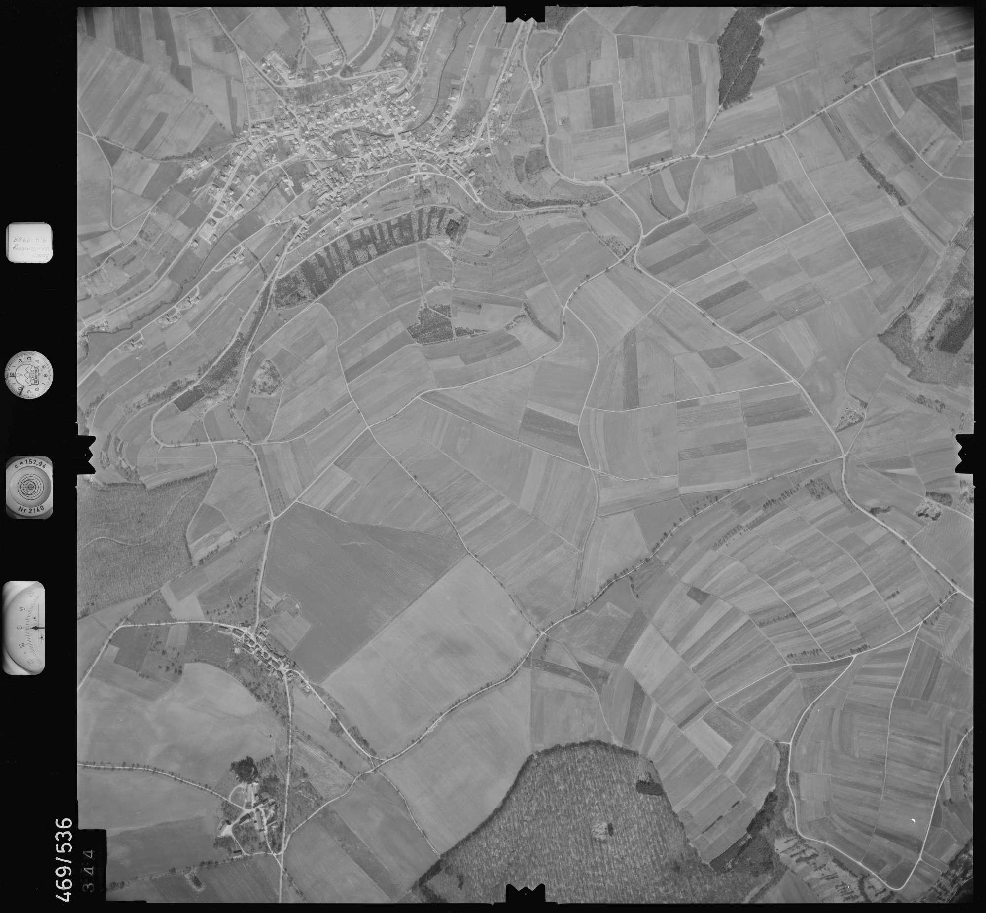 Luftbild: Film 101 Bildnr. 344, Bild 1