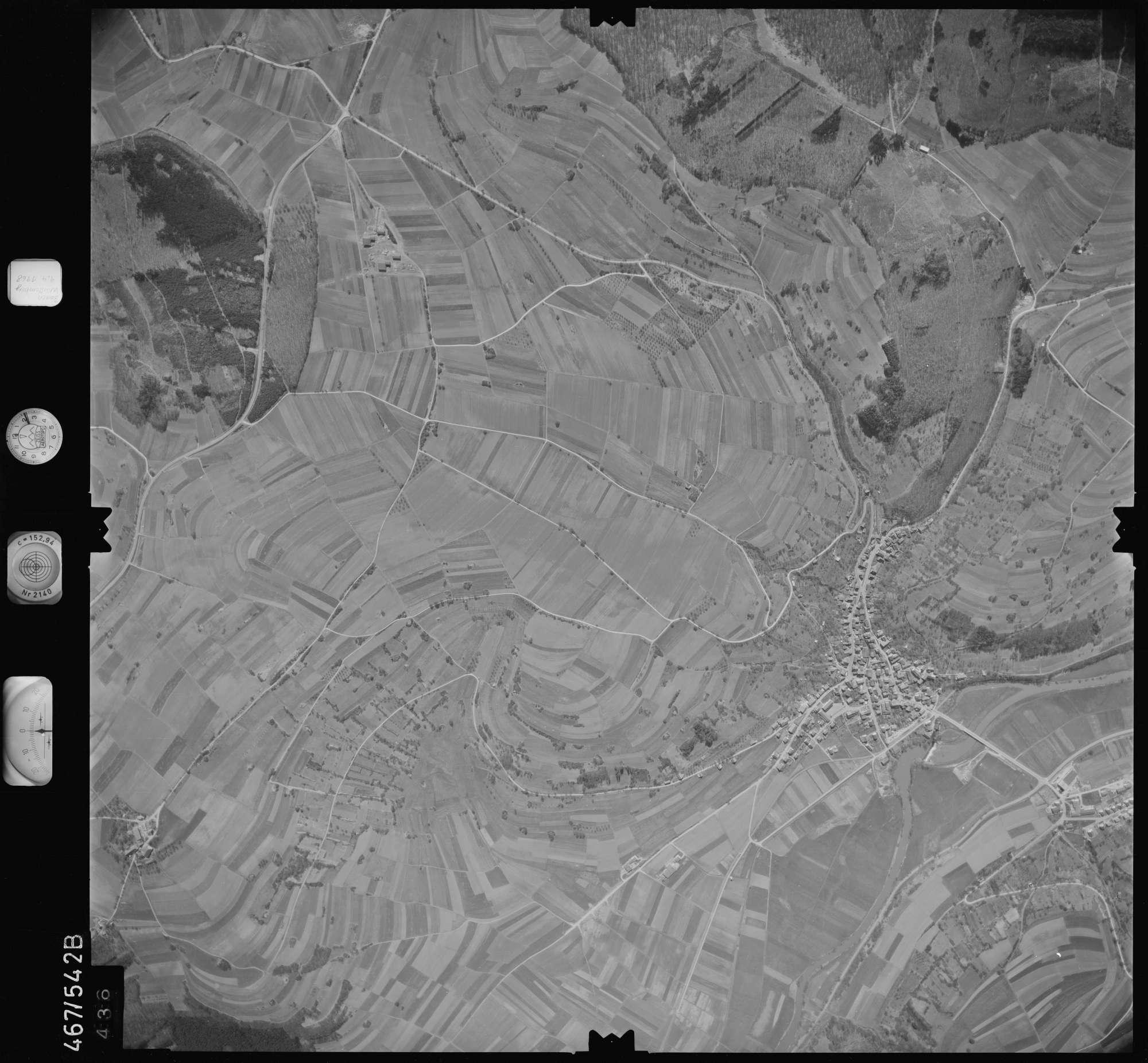 Luftbild: Film 101 Bildnr. 436, Bild 1