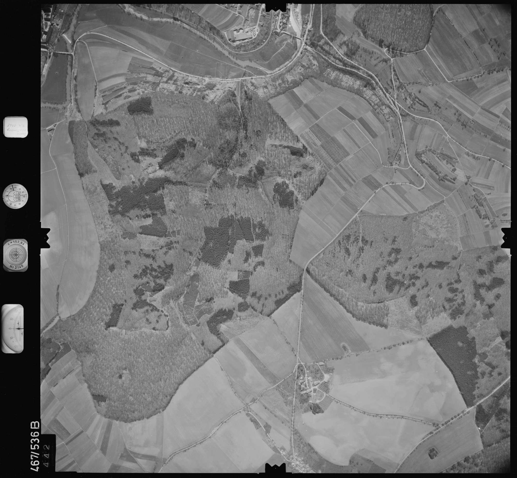 Luftbild: Film 101 Bildnr. 442, Bild 1