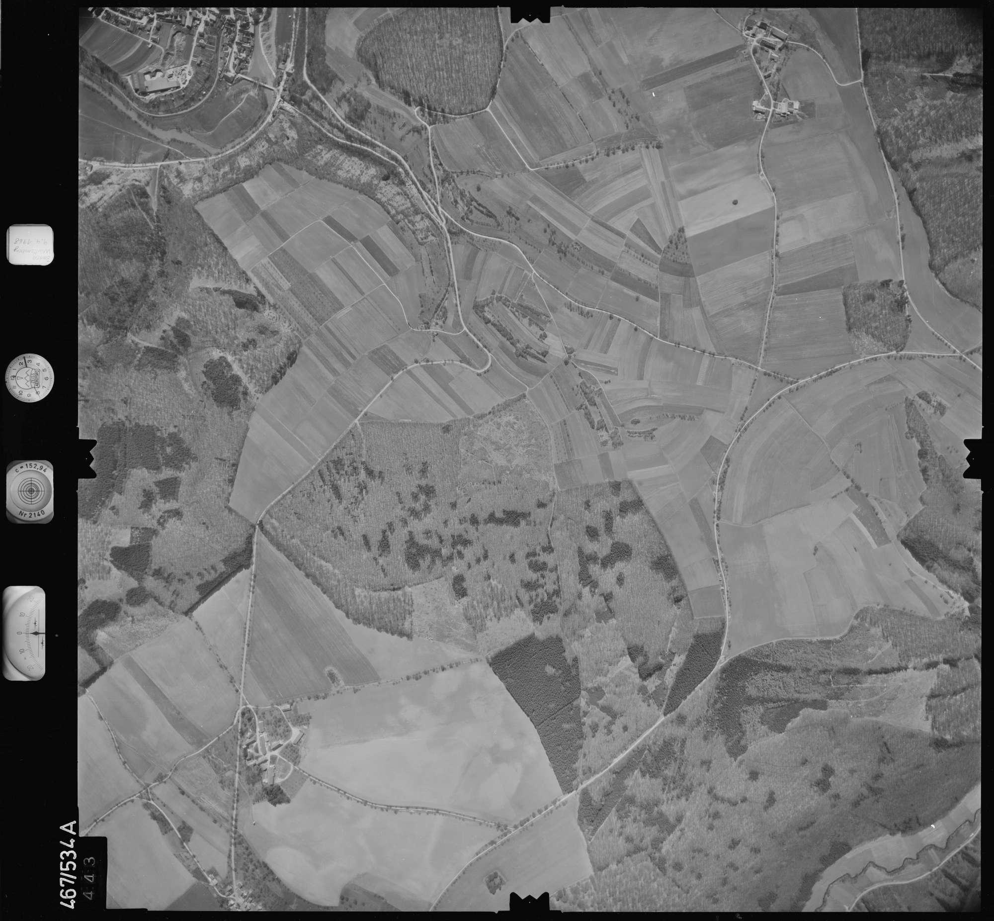 Luftbild: Film 101 Bildnr. 443, Bild 1