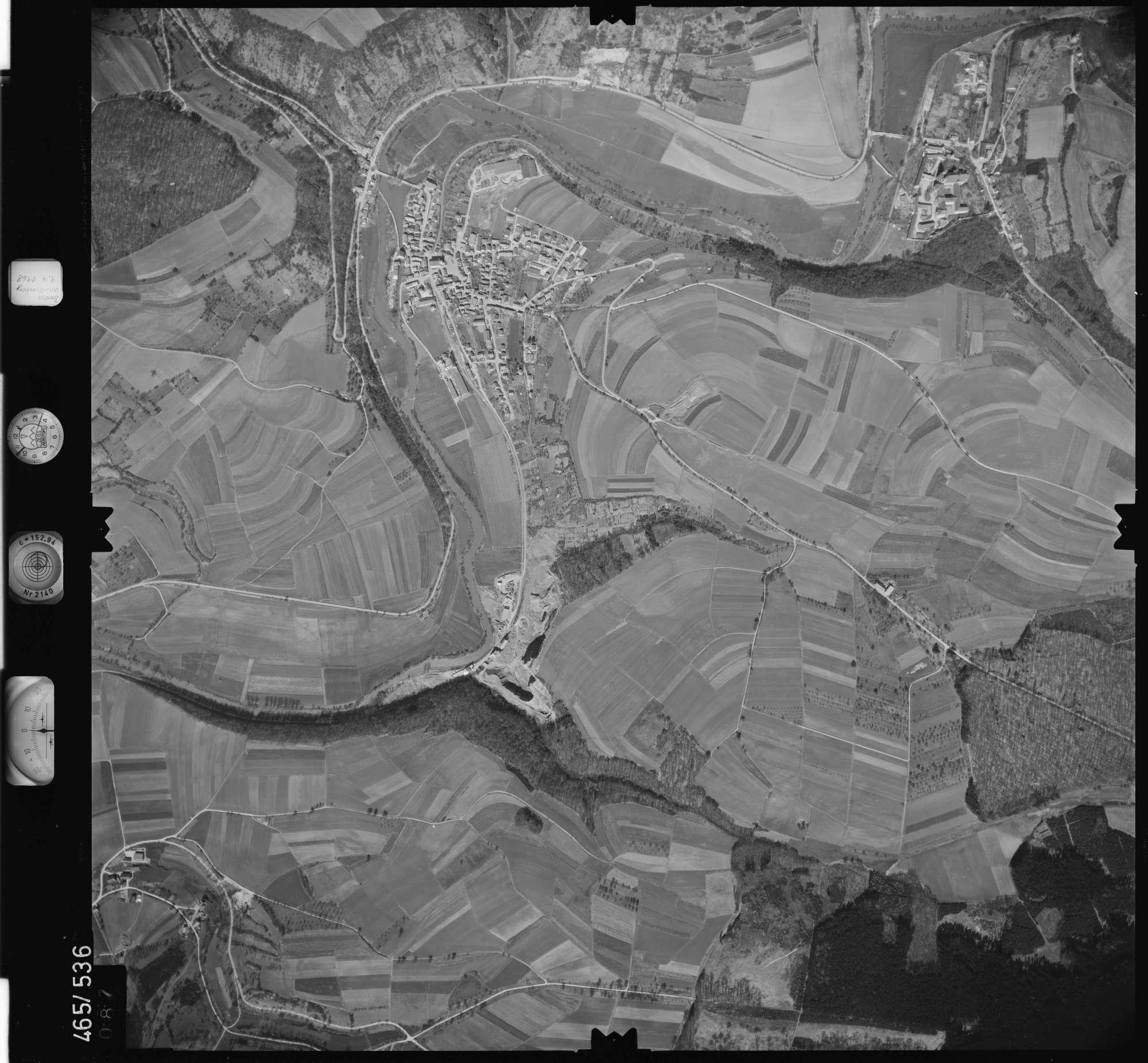 Luftbild: Film 102 Bildnr. 87, Bild 1