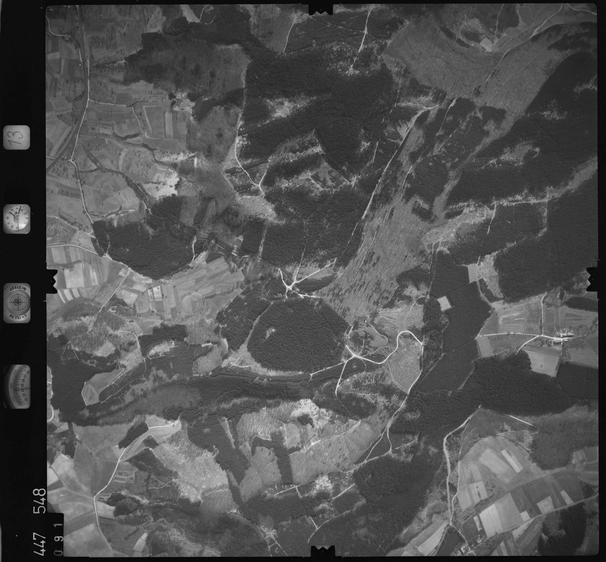 Luftbild: Film 13 Bildnr. 91, Bild 1