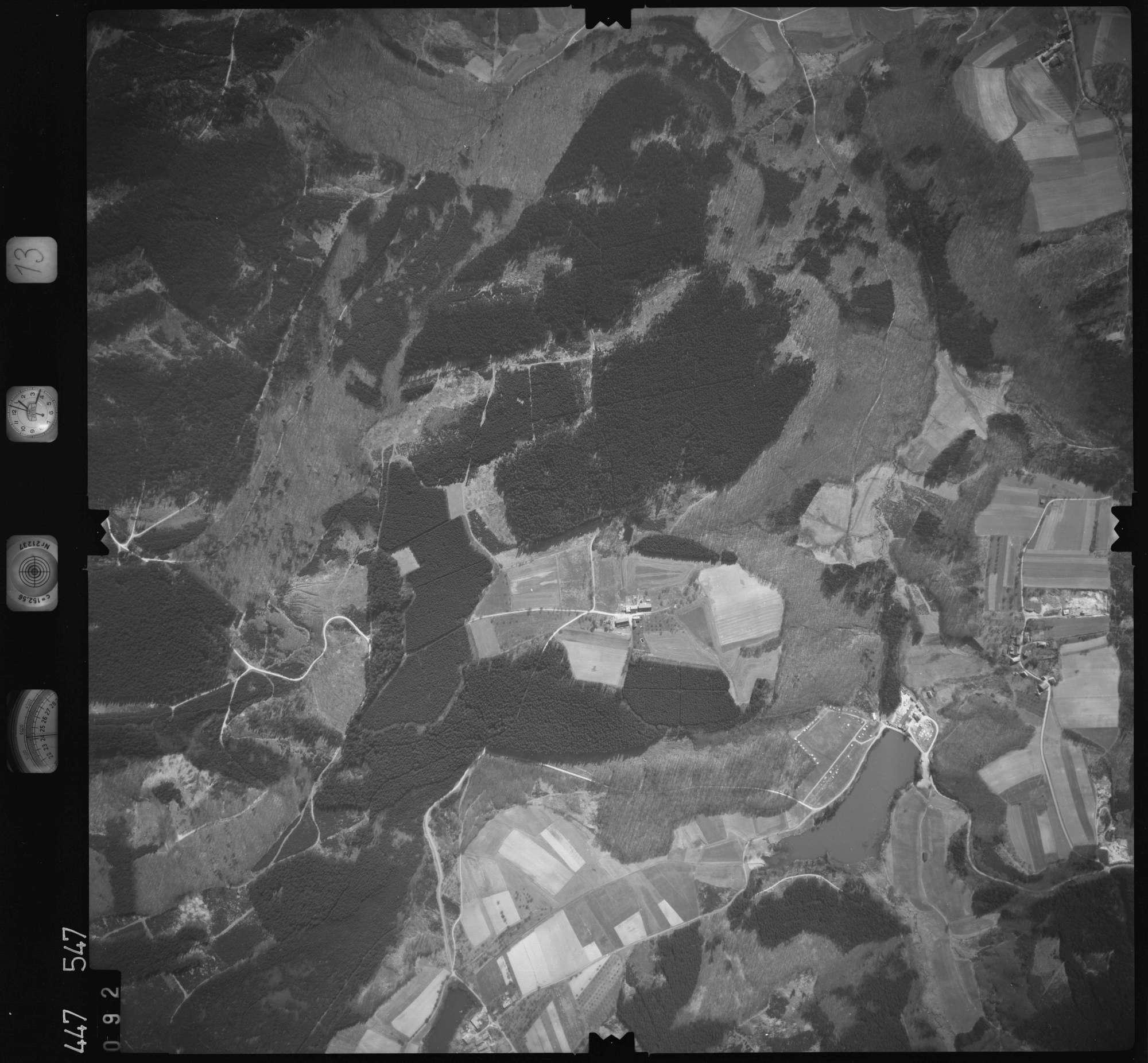 Luftbild: Film 13 Bildnr. 92, Bild 1
