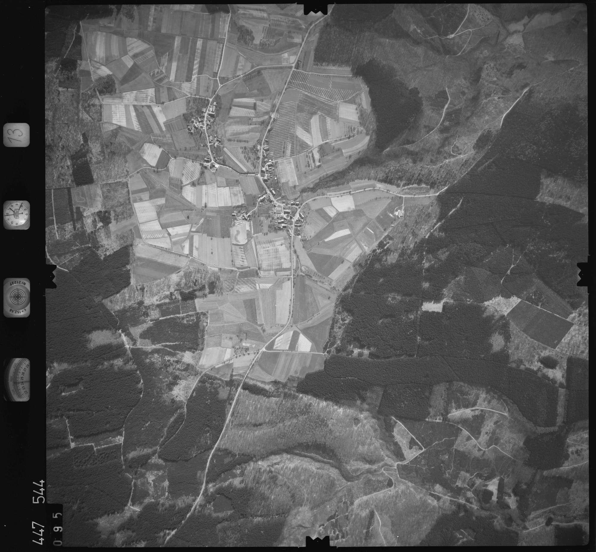 Luftbild: Film 13 Bildnr. 95, Bild 1