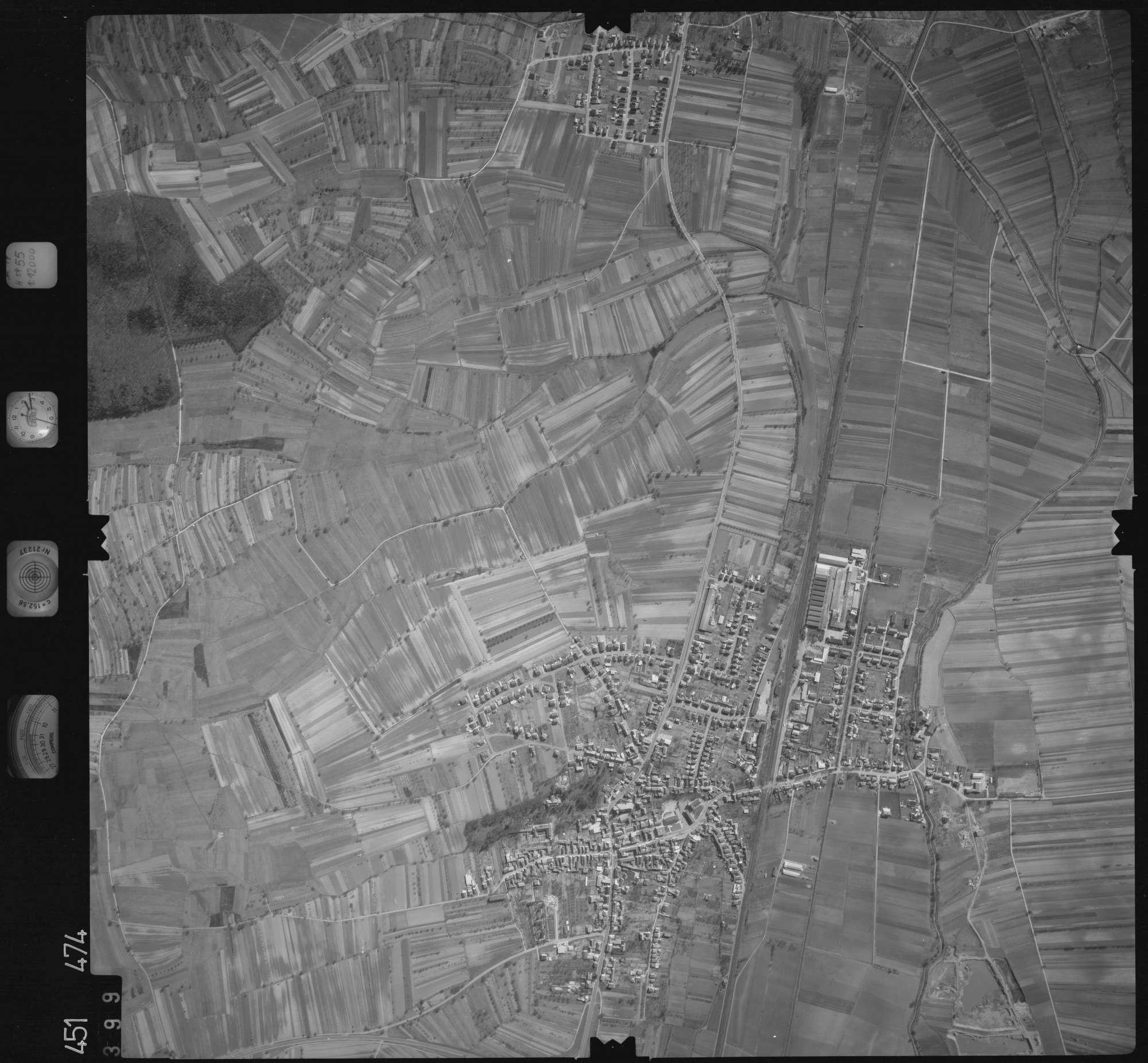 Luftbild: Film 15 Bildnr. 399, Bild 1