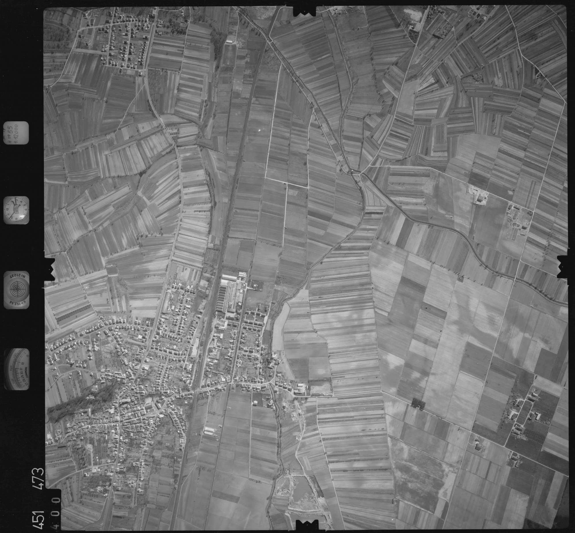 Luftbild: Film 15 Bildnr. 400, Bild 1