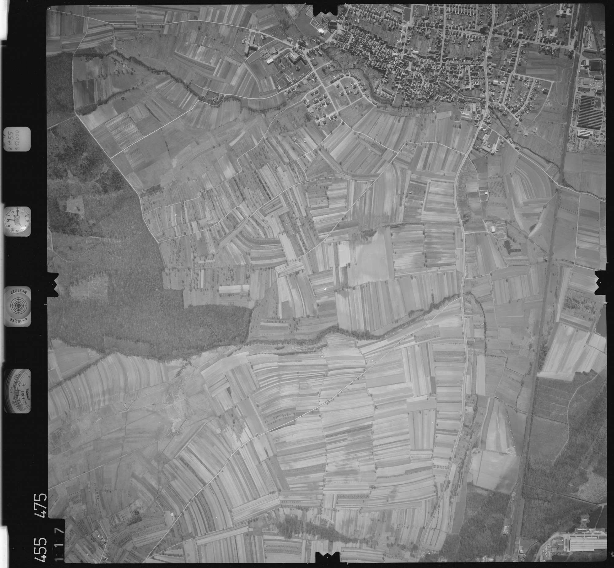 Luftbild: Film 17 Bildnr. 117, Bild 1