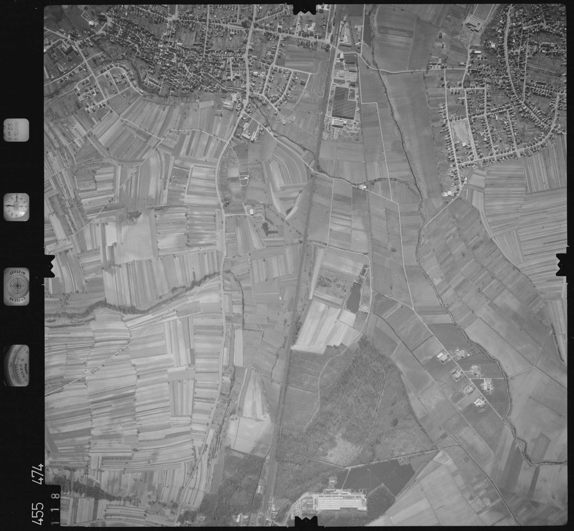 Luftbild: Film 17 Bildnr. 118, Bild 1