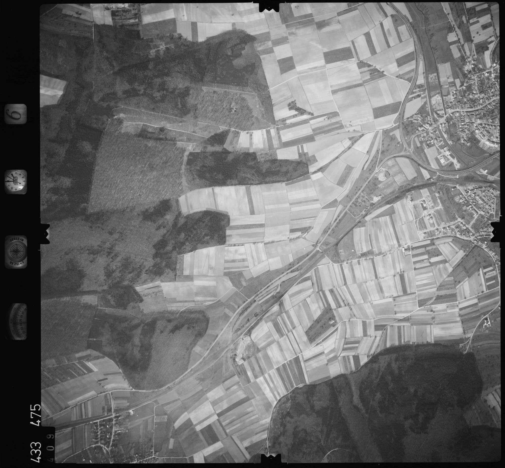 Luftbild: Film 6 Bildnr. 409, Bild 1