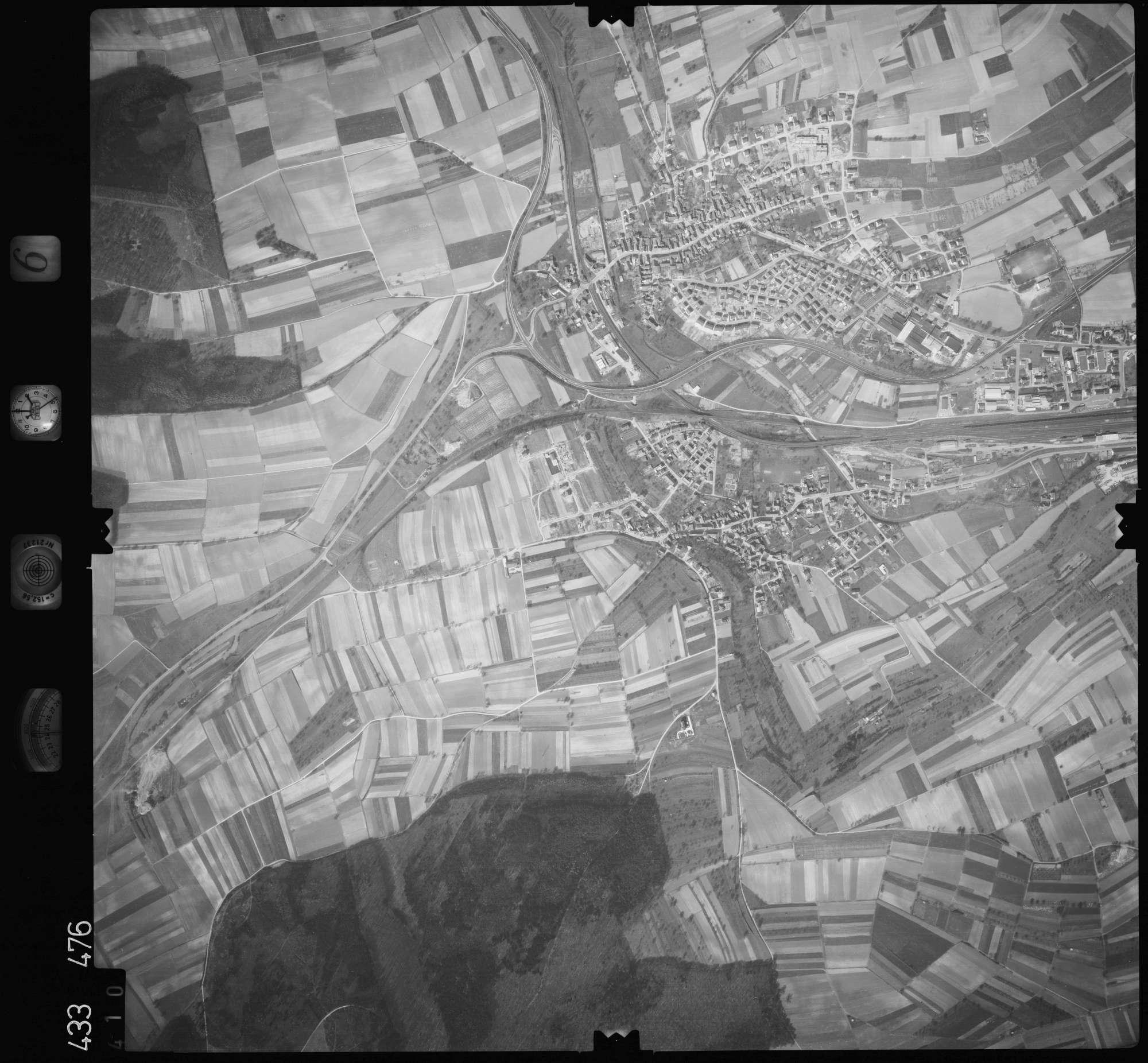 Luftbild: Film 6 Bildnr. 410, Bild 1