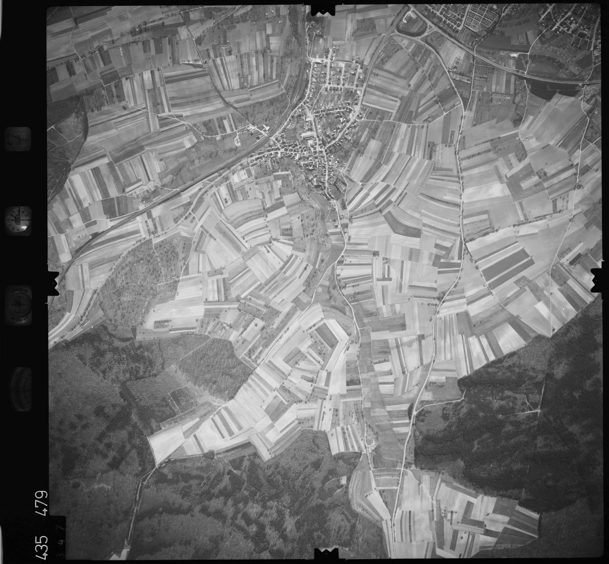 Luftbild: Film 7 Bildnr. 347, Bild 1